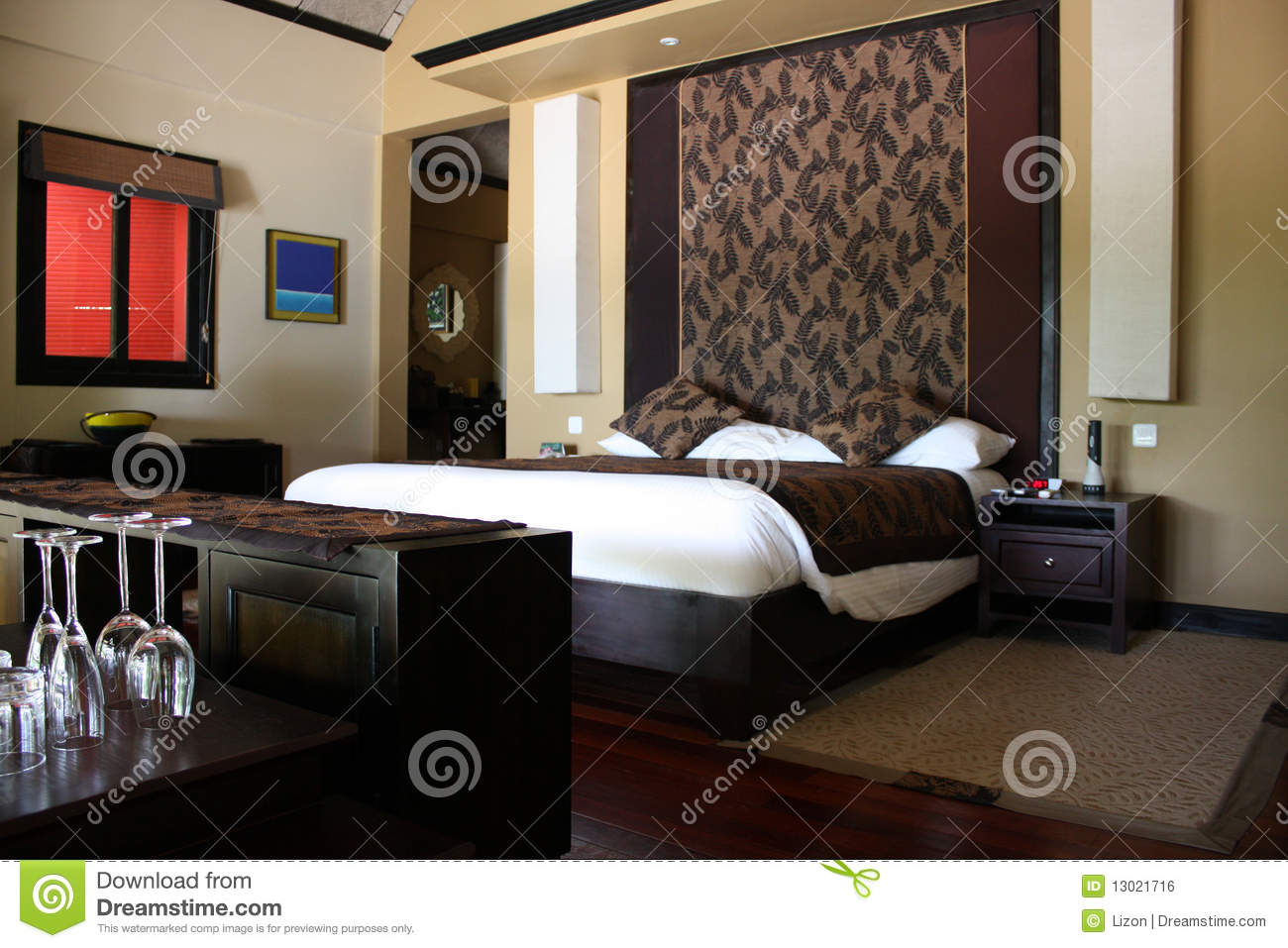 Royalty Free. Download Raum, Schlafzimmer, Braun Stockfoto.
