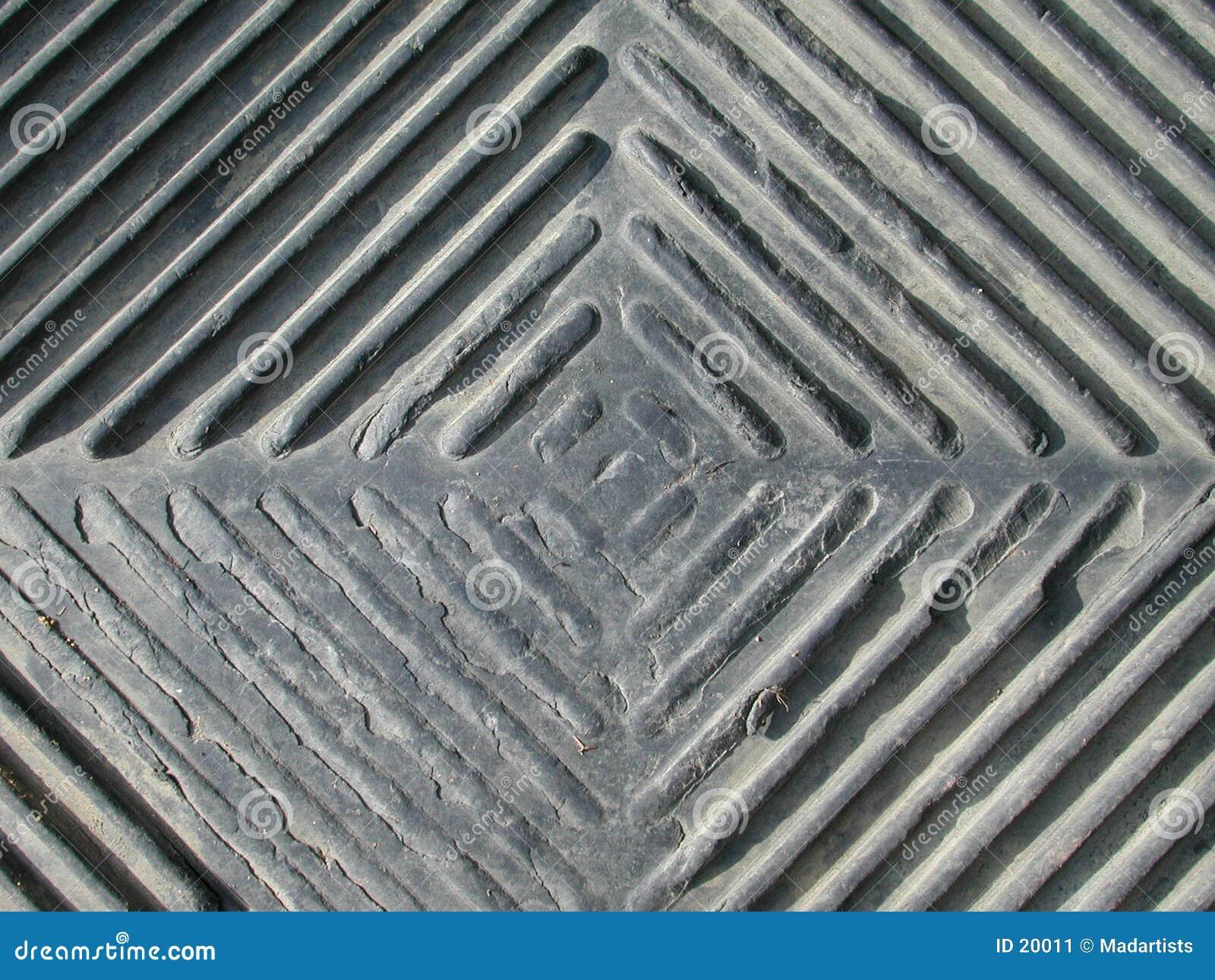 Rautenförmiges Grunge Muster