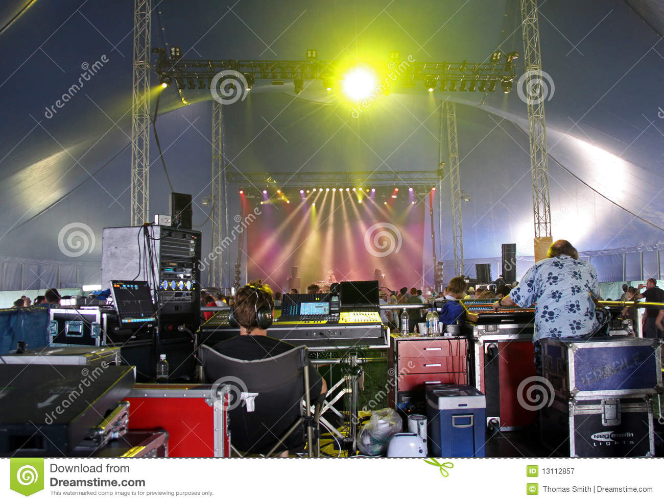 The Rave Music Marquee At Hop Farm Music Festival Editorial
