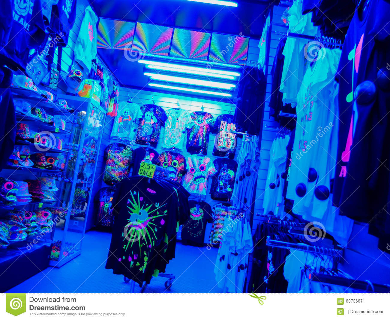 Rave clothing stores
