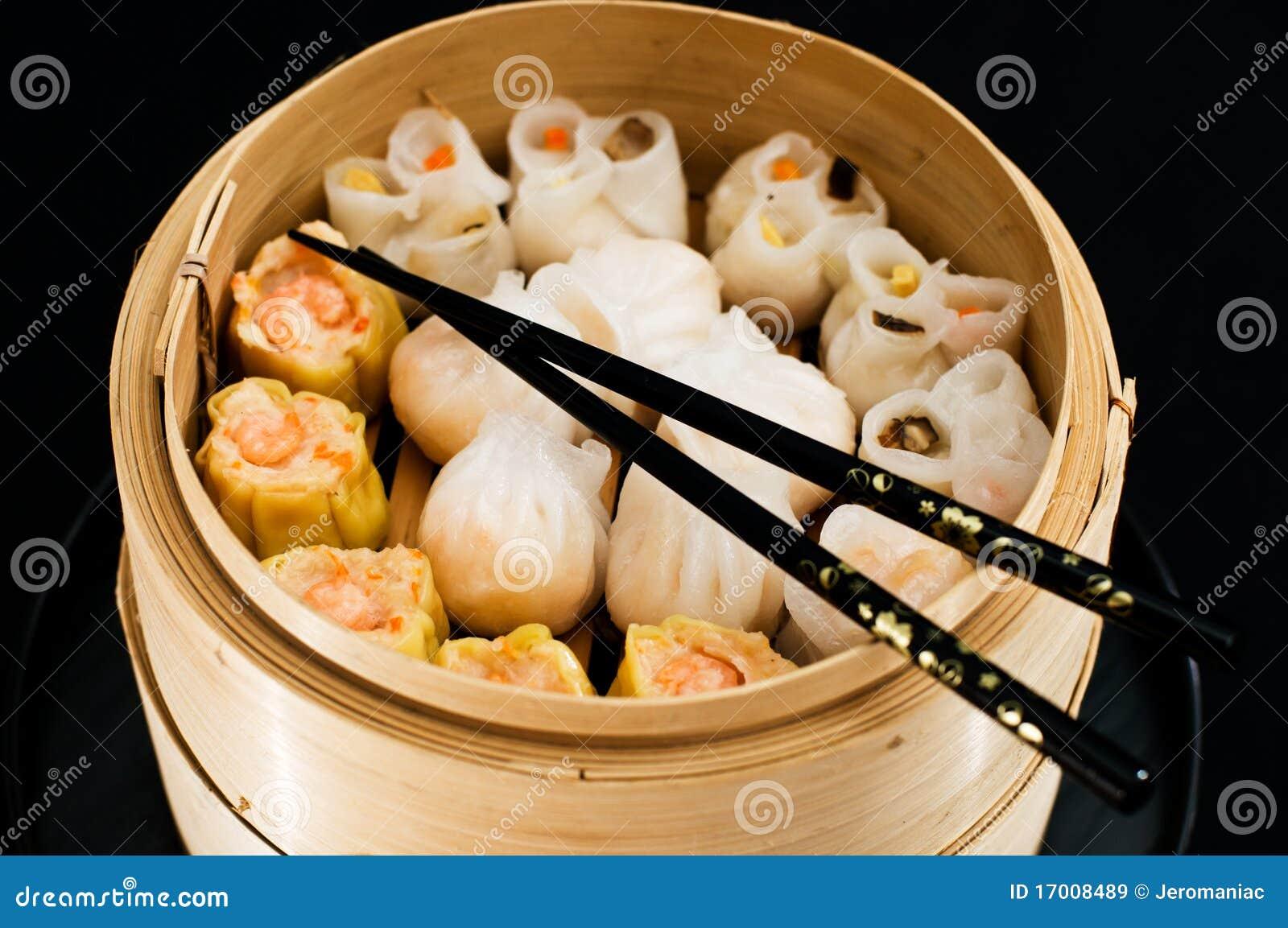 Ravioli chinois images libres de droits image 17008489 - Cuisine asiatique vapeur ...