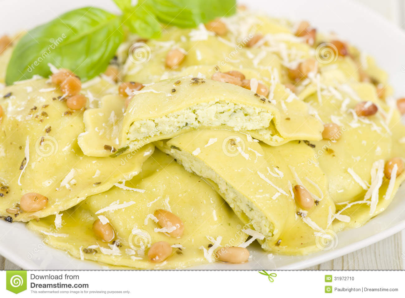 Ricotta Cheese Eggs Ravioli Butter Sauces The Fresh Homemade Ricotta