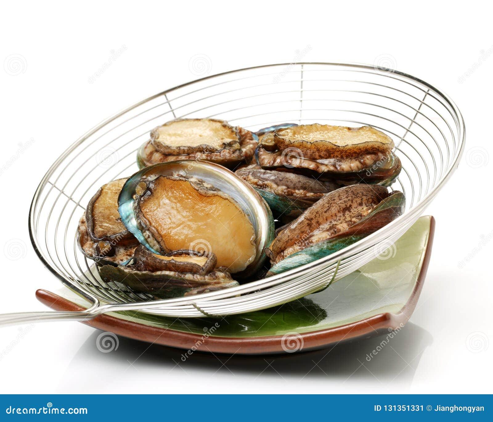 Raw abalone