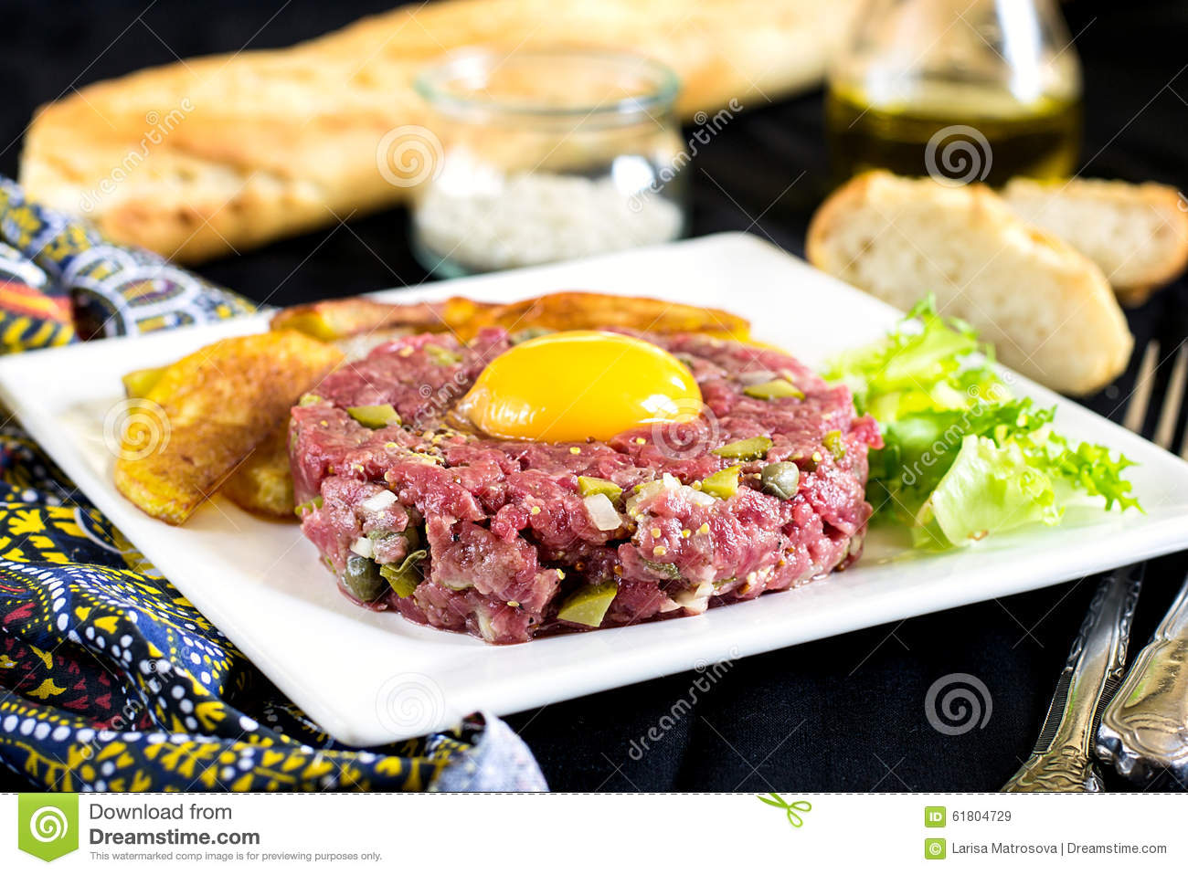 Image result for steak tartare no copyright