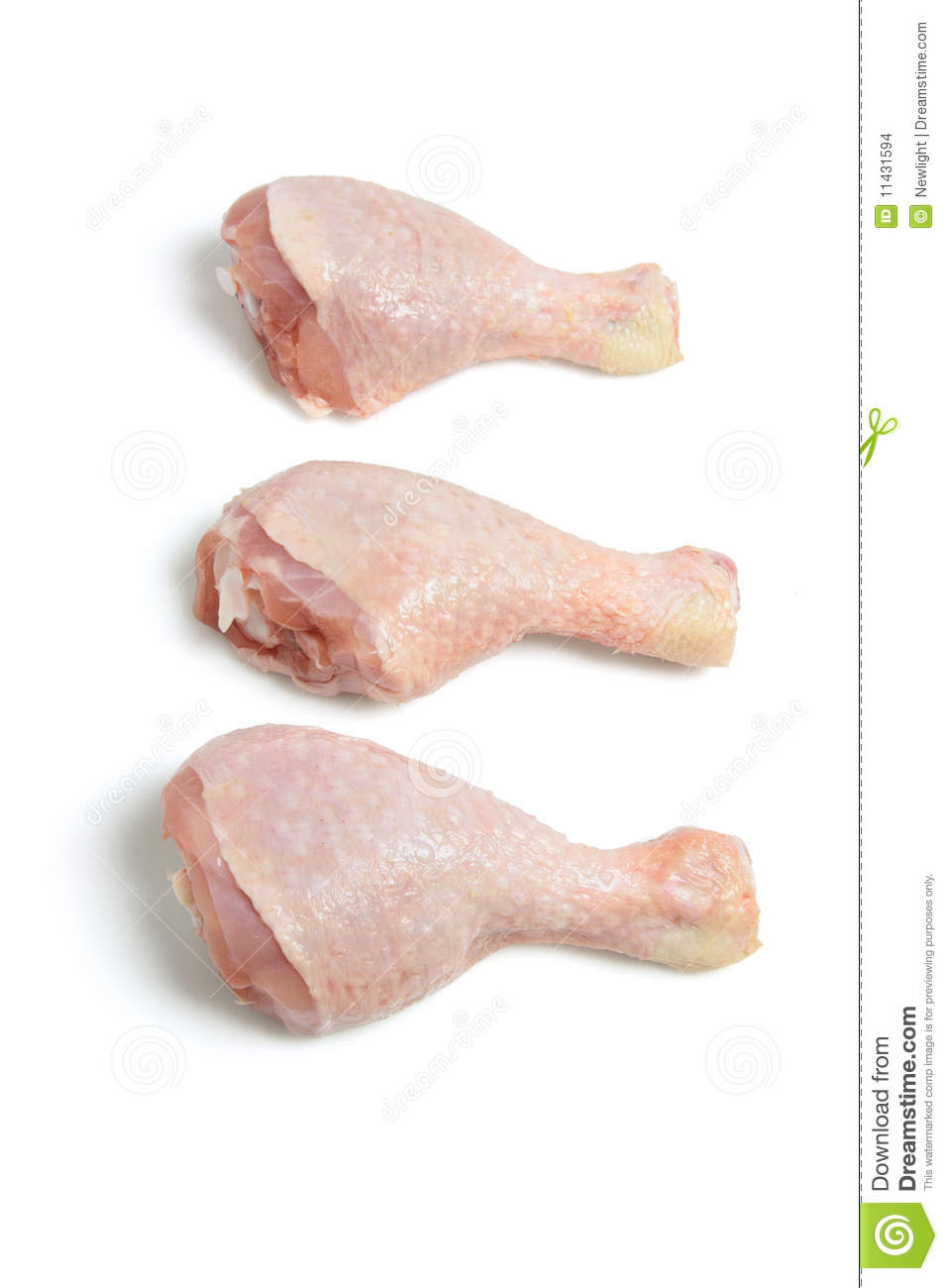Raw Chicken Drumsticks Stock Images - Image: 11431594
