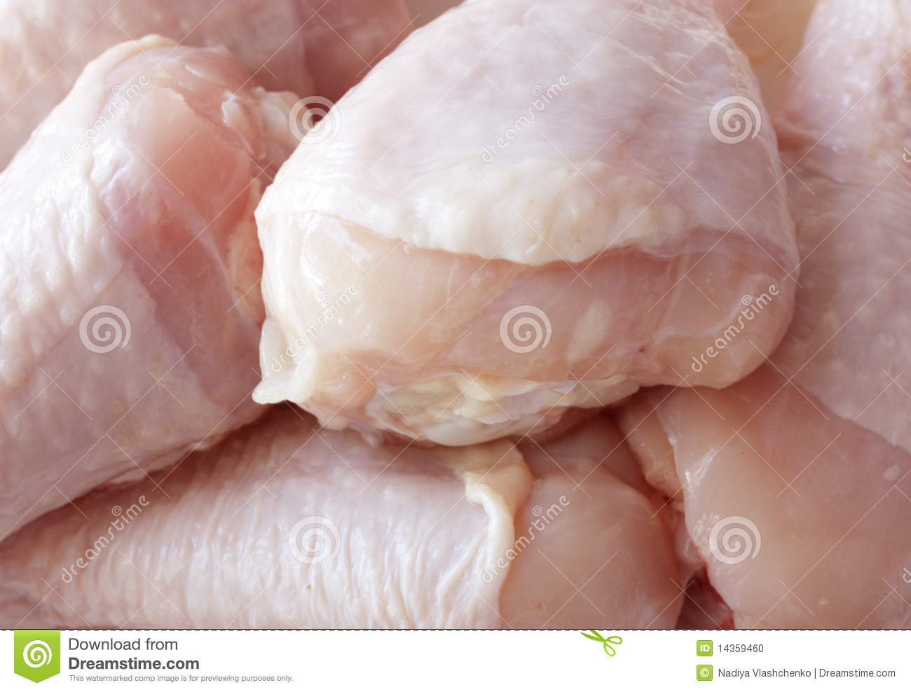 Raw Chicken Drumsticks Stock Photo - Image: 14359460