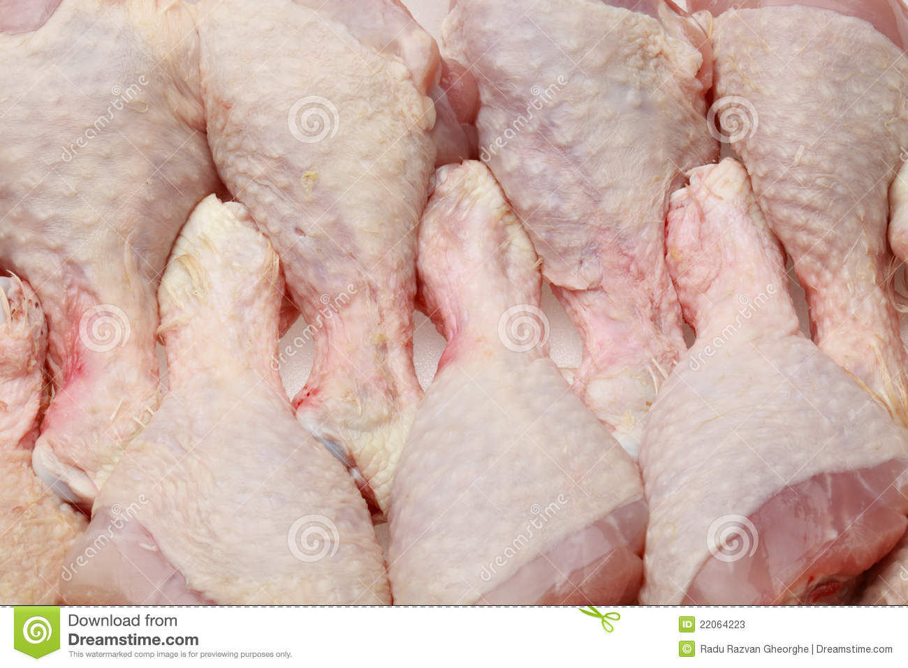 Raw Chicken Drumsticks Stock Photos - Image: 22064223