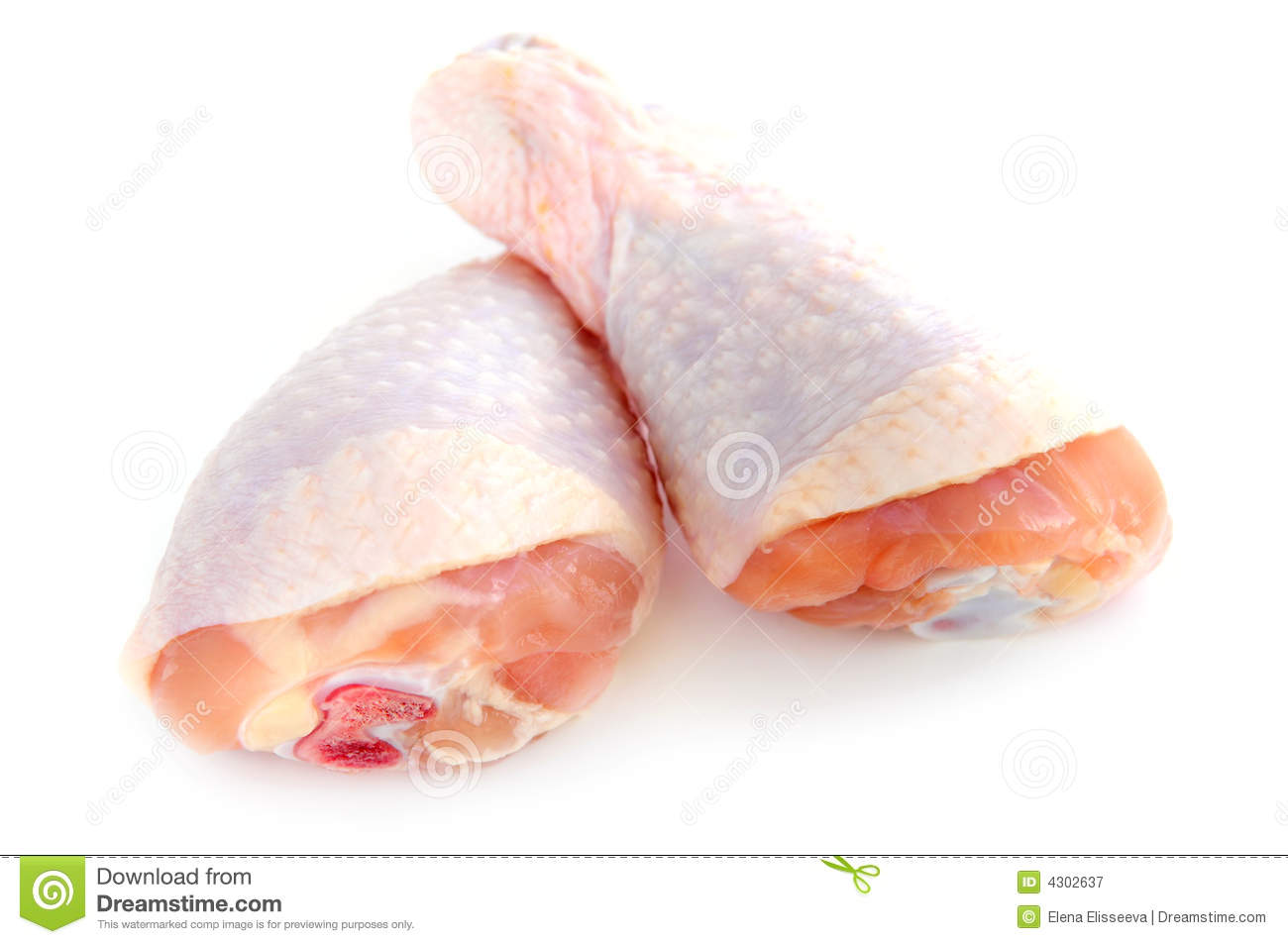 Raw Chicken Drumsticks Royalty Free Stock Photography ...
