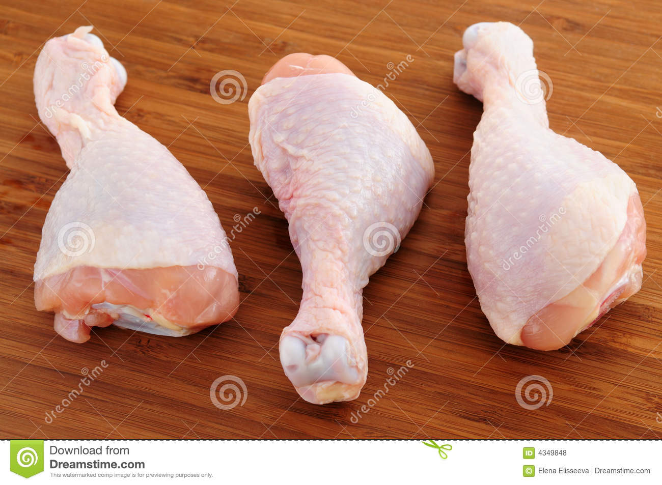 Raw Chicken Drumsticks Royalty Free Stock Photos - Image ...