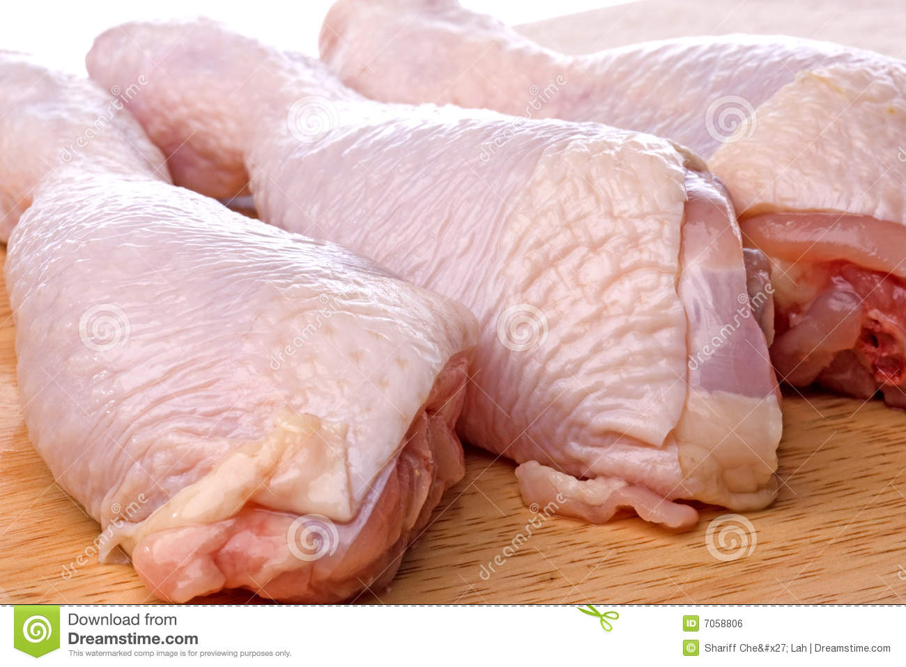 Raw Chicken Drumsticks Royalty Free Stock Image - Image ...