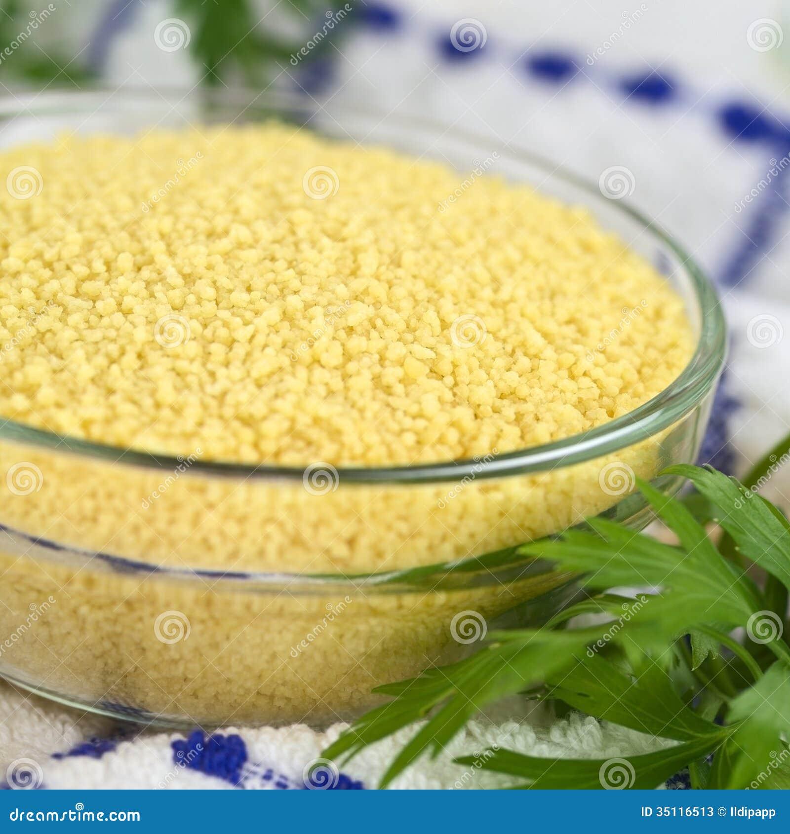 Raw Couscous Stock Photos - Image: 35116513