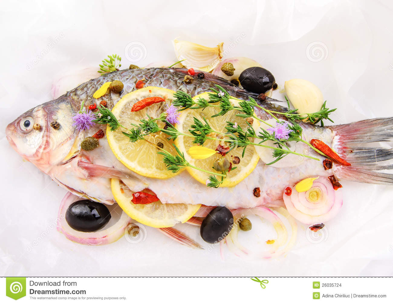 how to cook raw fish