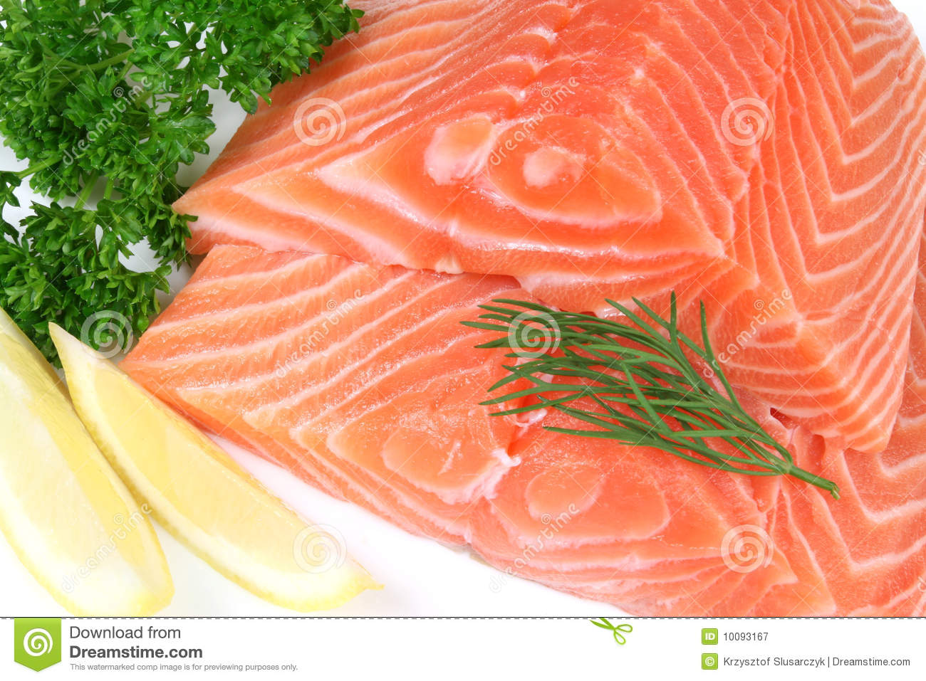 Raw Fish Meat Royalty Free Stock Photography - Image: 10093167