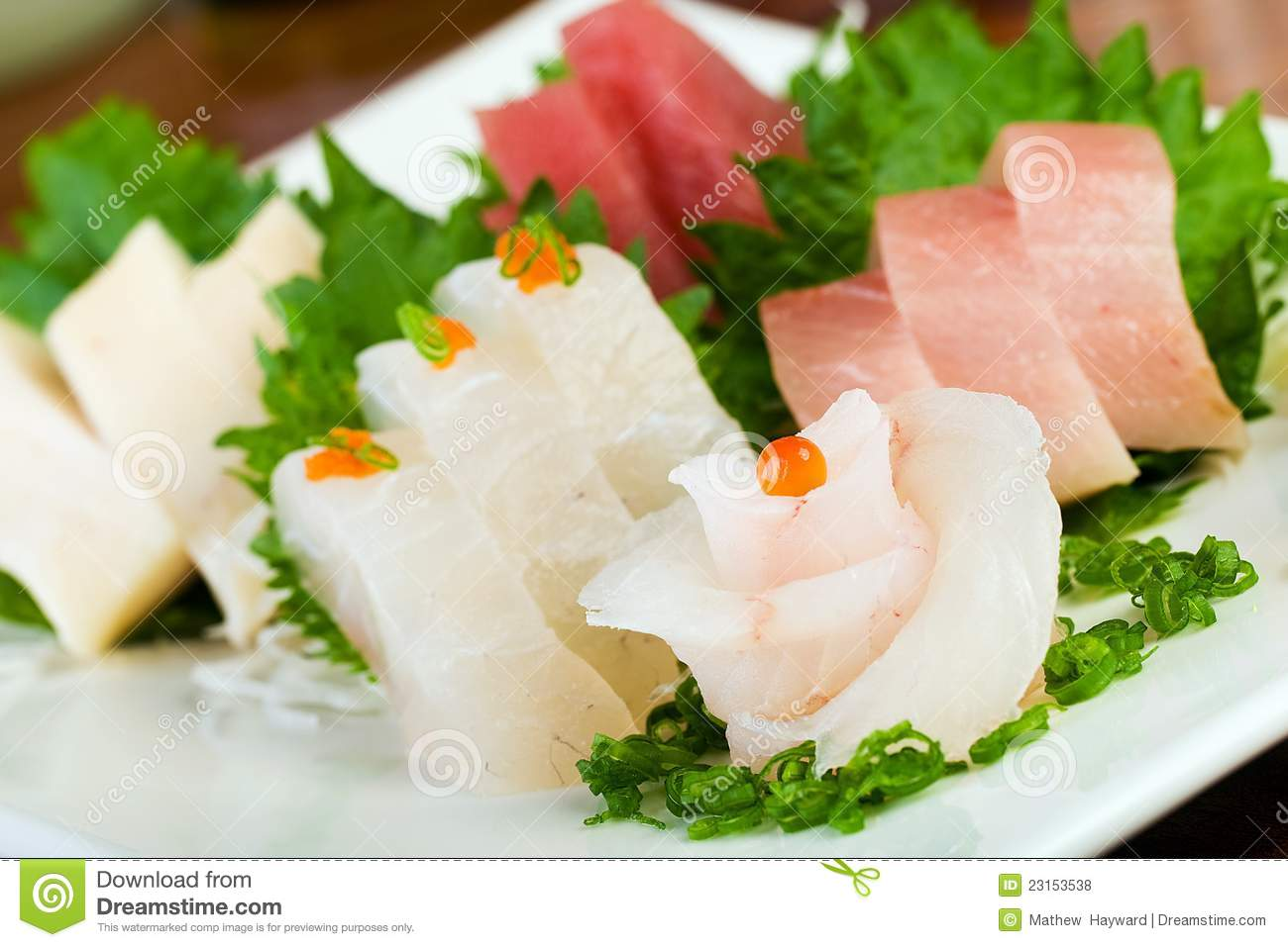 Raw fish sushi flower royalty free stock photos image for Is sushi raw fish