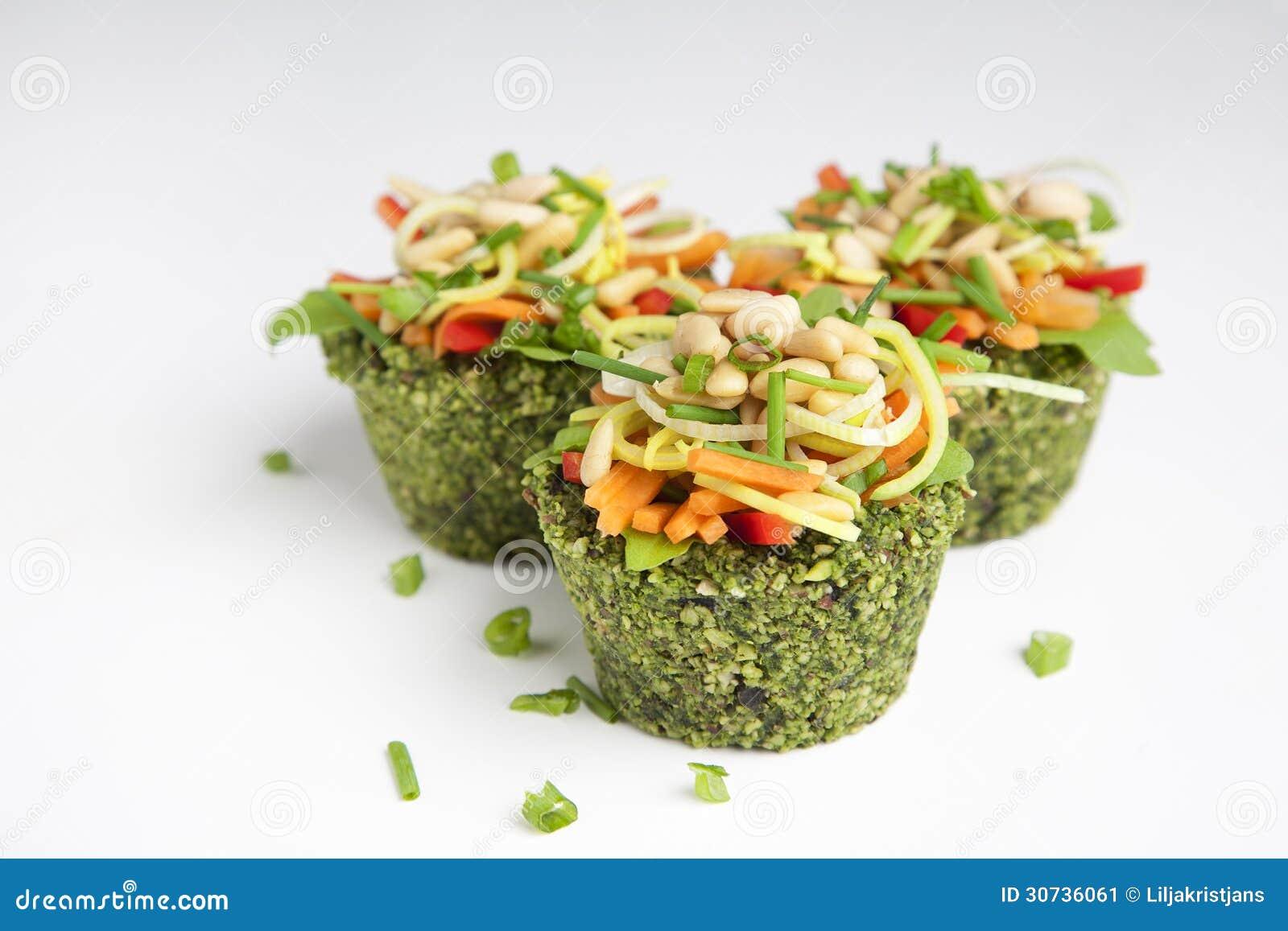 Raw Food - Cupcakes Stock Image - Image: 30736061