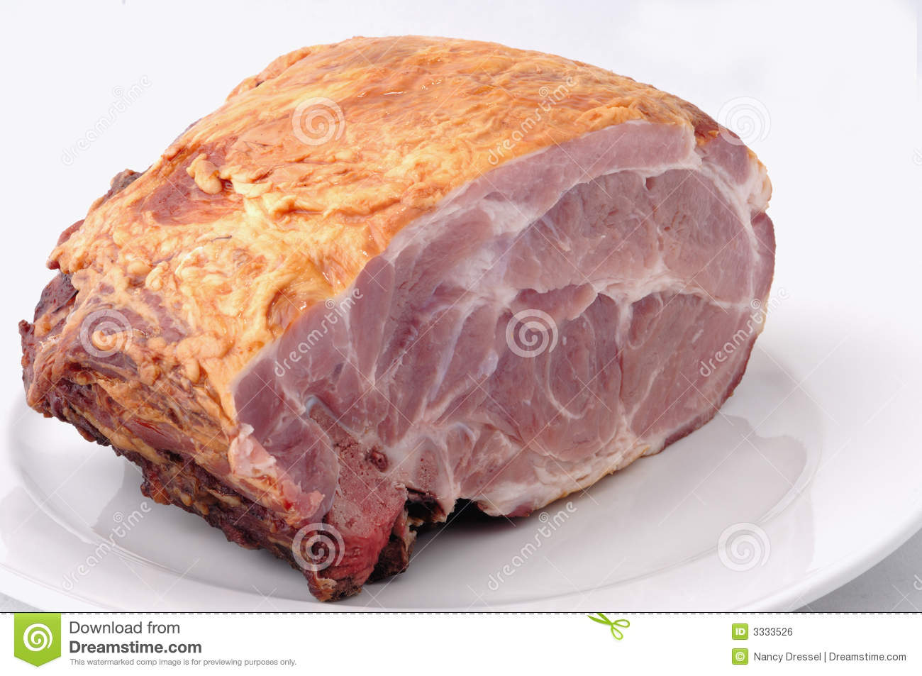 Raw ham meat stock photo. Image of cooking, image, grocery ...