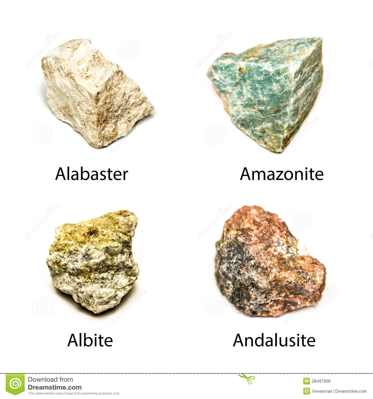 Raw Andalusite, Poor Mans Alexandrite , Mineralogy Sample Al2SiO5