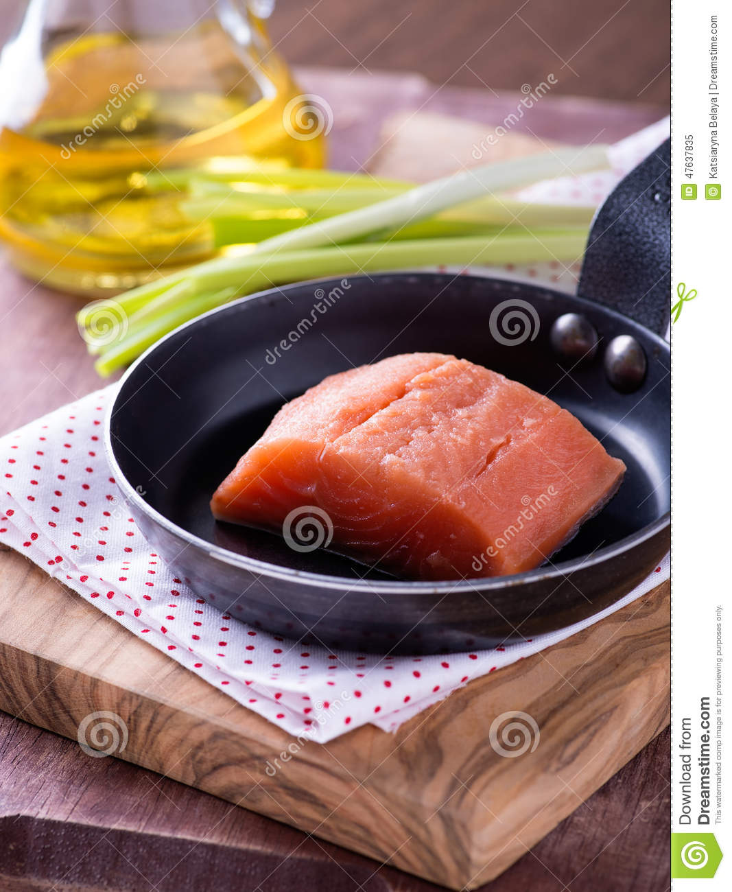 Raw red fish fillet stock photo image 47637835 for Red fish fillet