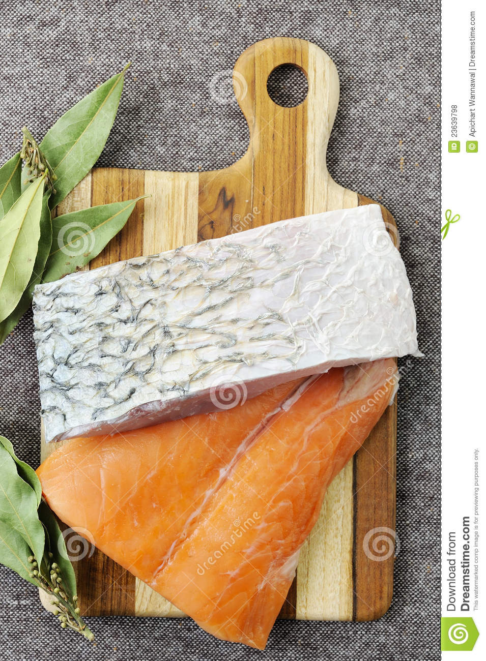 Raw salmon fish piece royalty free stock photos image for Piece of fish