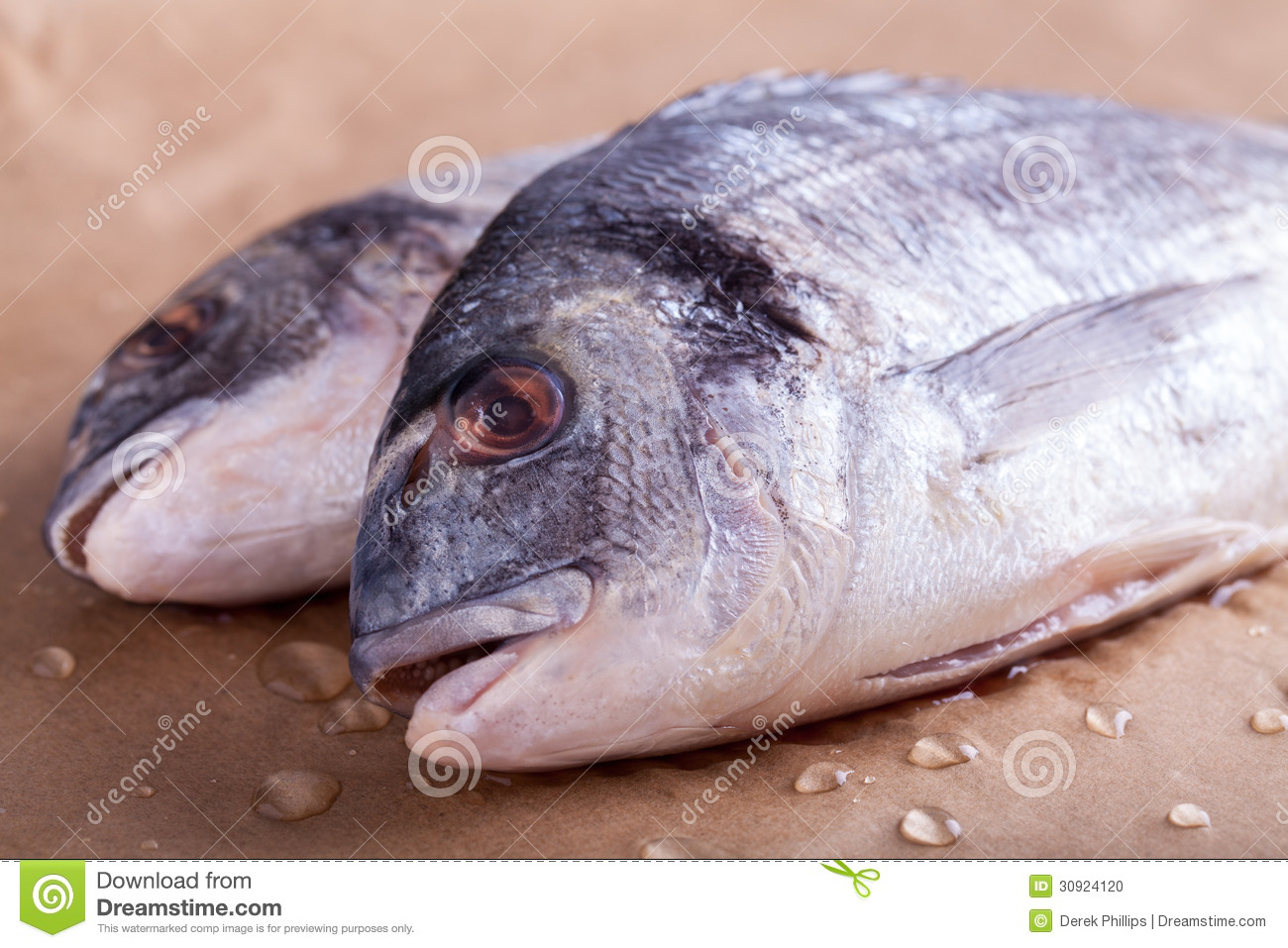 how to cook bream fish in oven