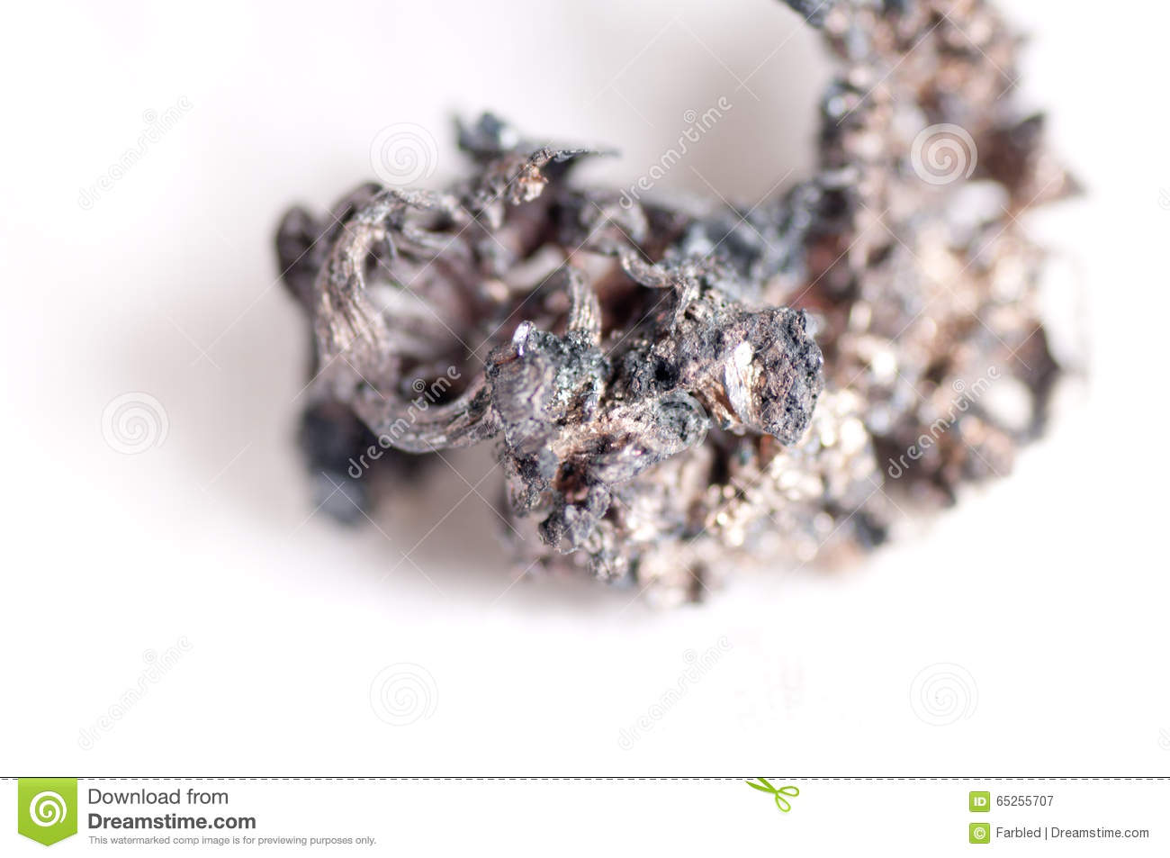 raw silver ore stock photo image 65255707