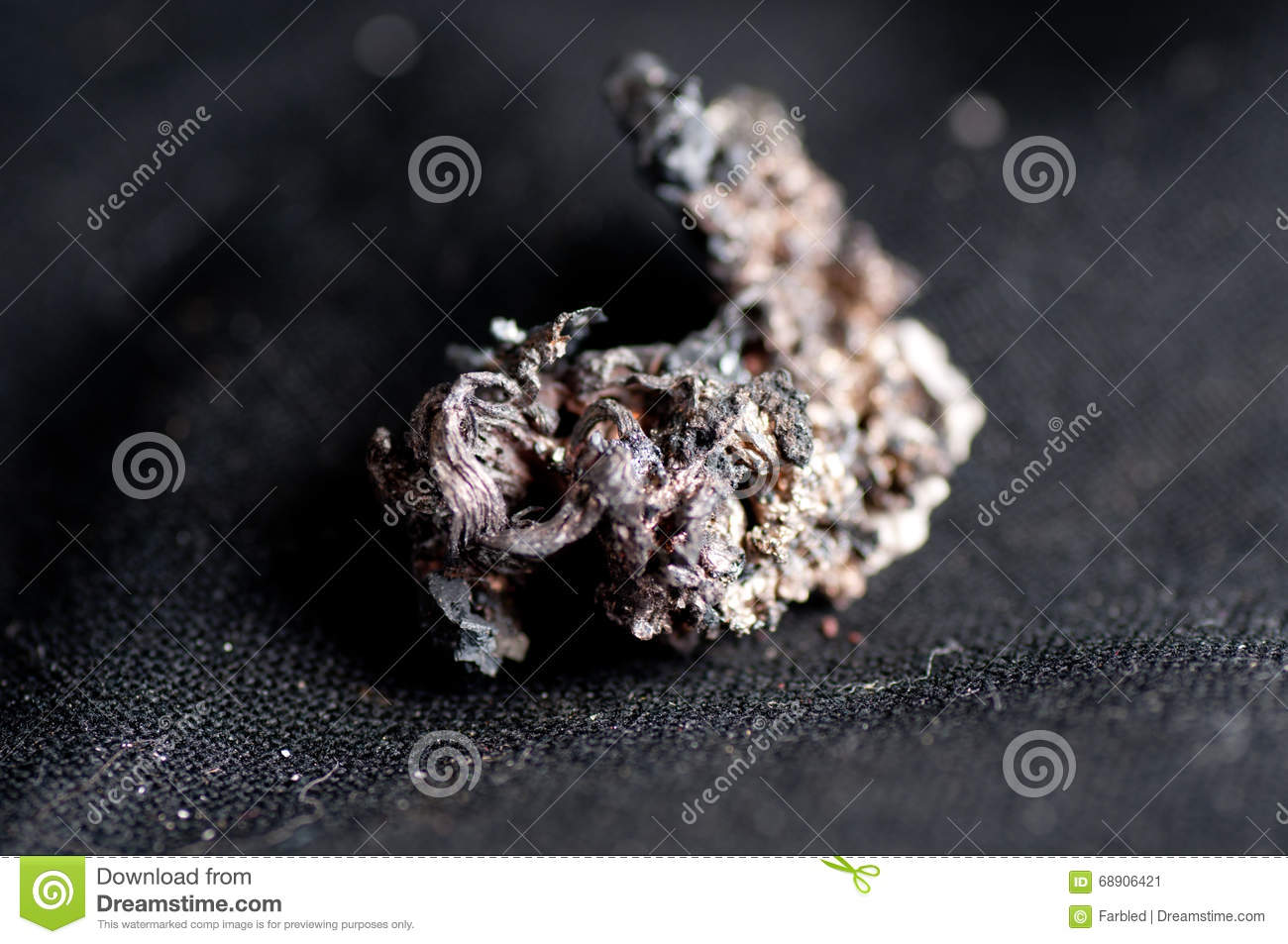 raw silver ore stock image image of nugget rare copper