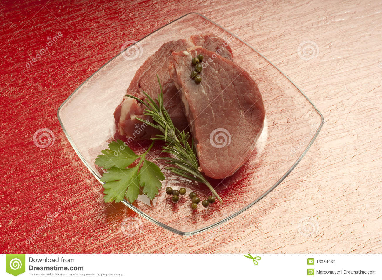 Raw tenderloin