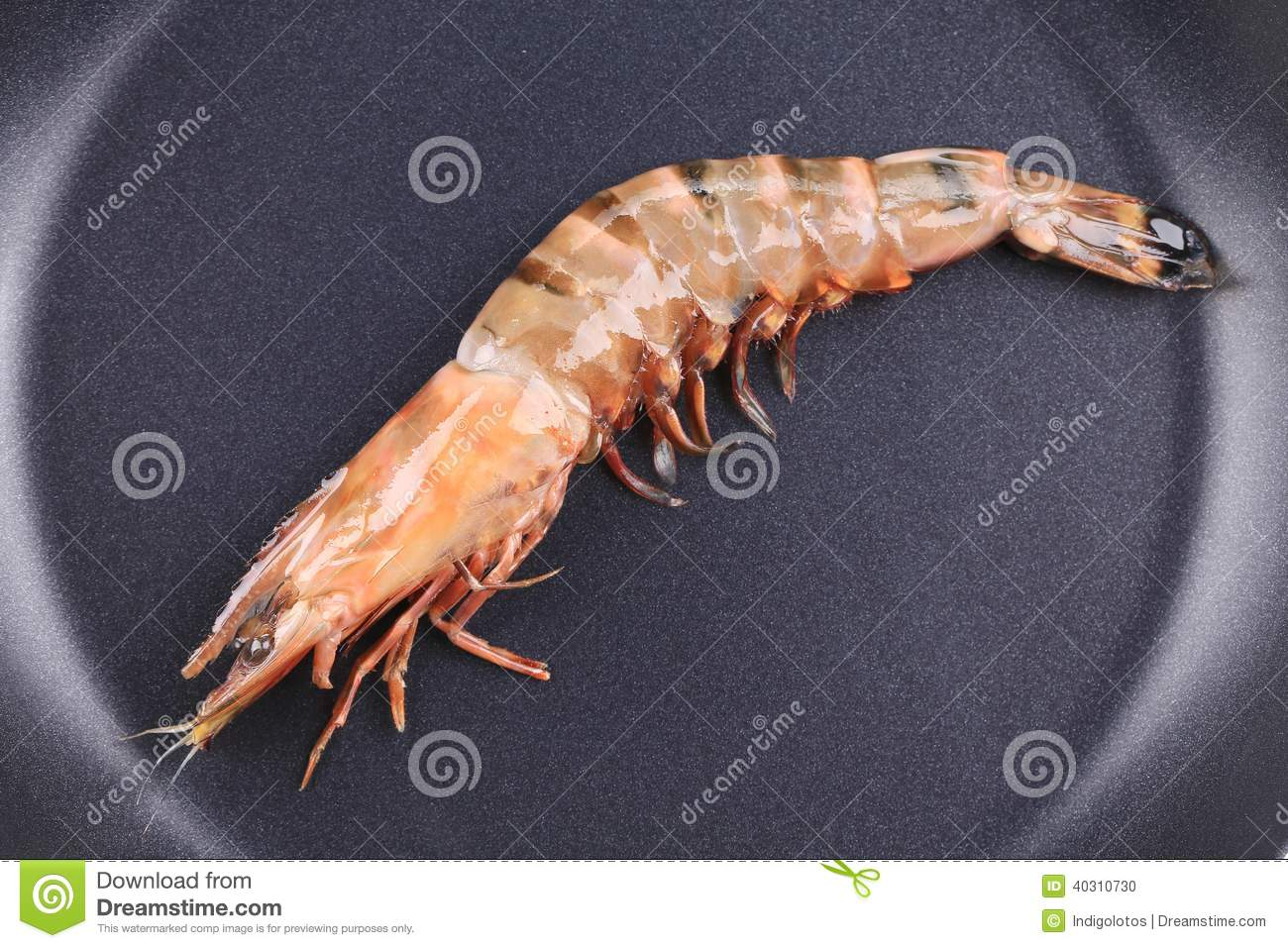 how to cook shrimp in a frying pan