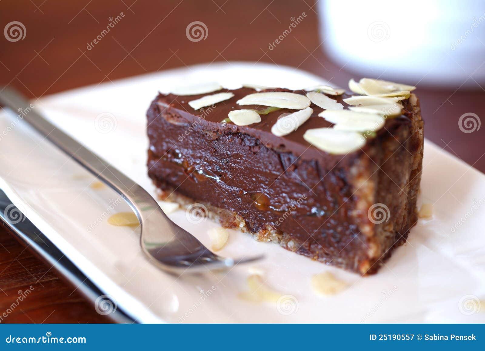 Raw Vegan Chocolate Ganache Cake