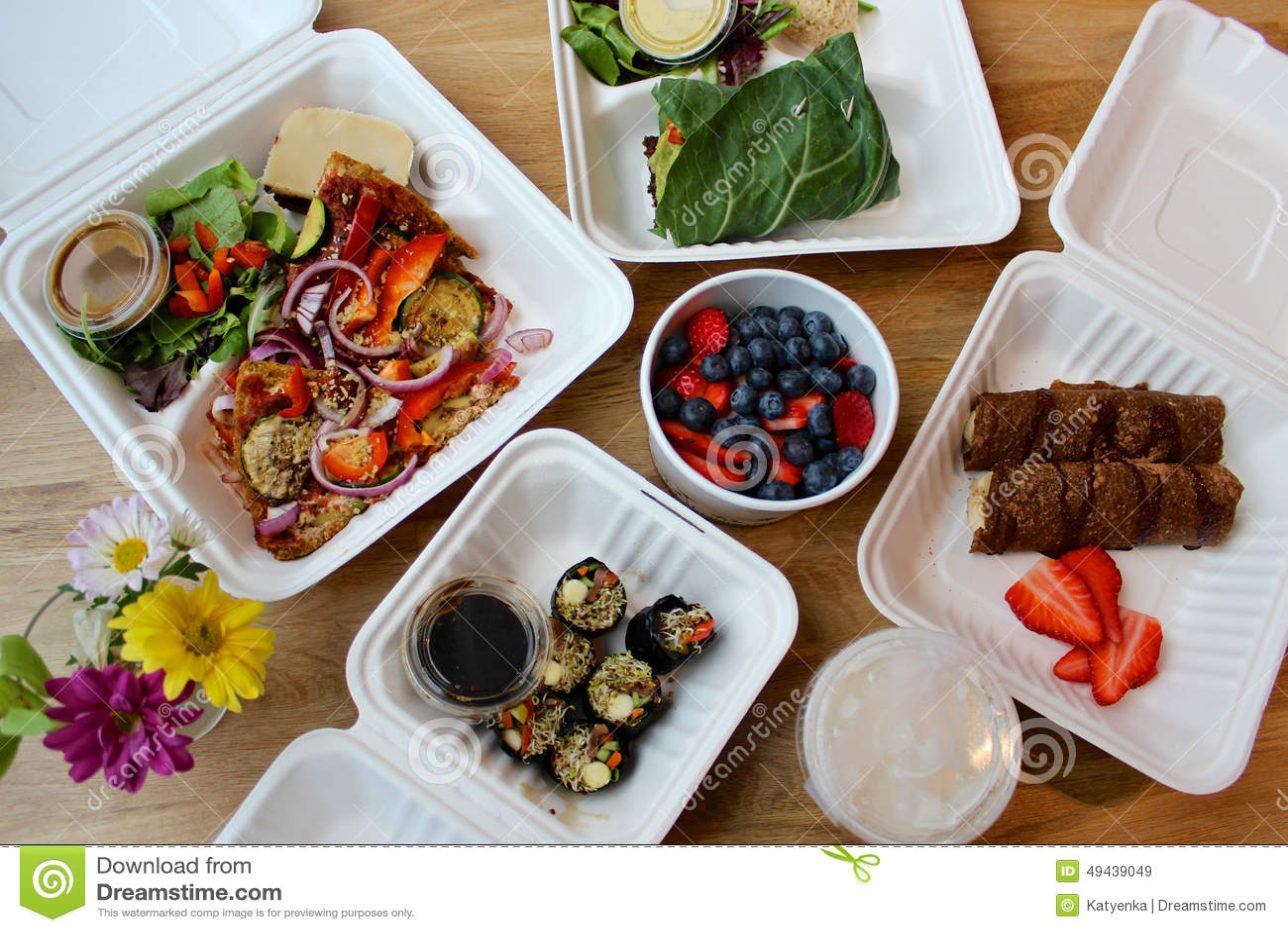 Raw Vegan Food Delivery
