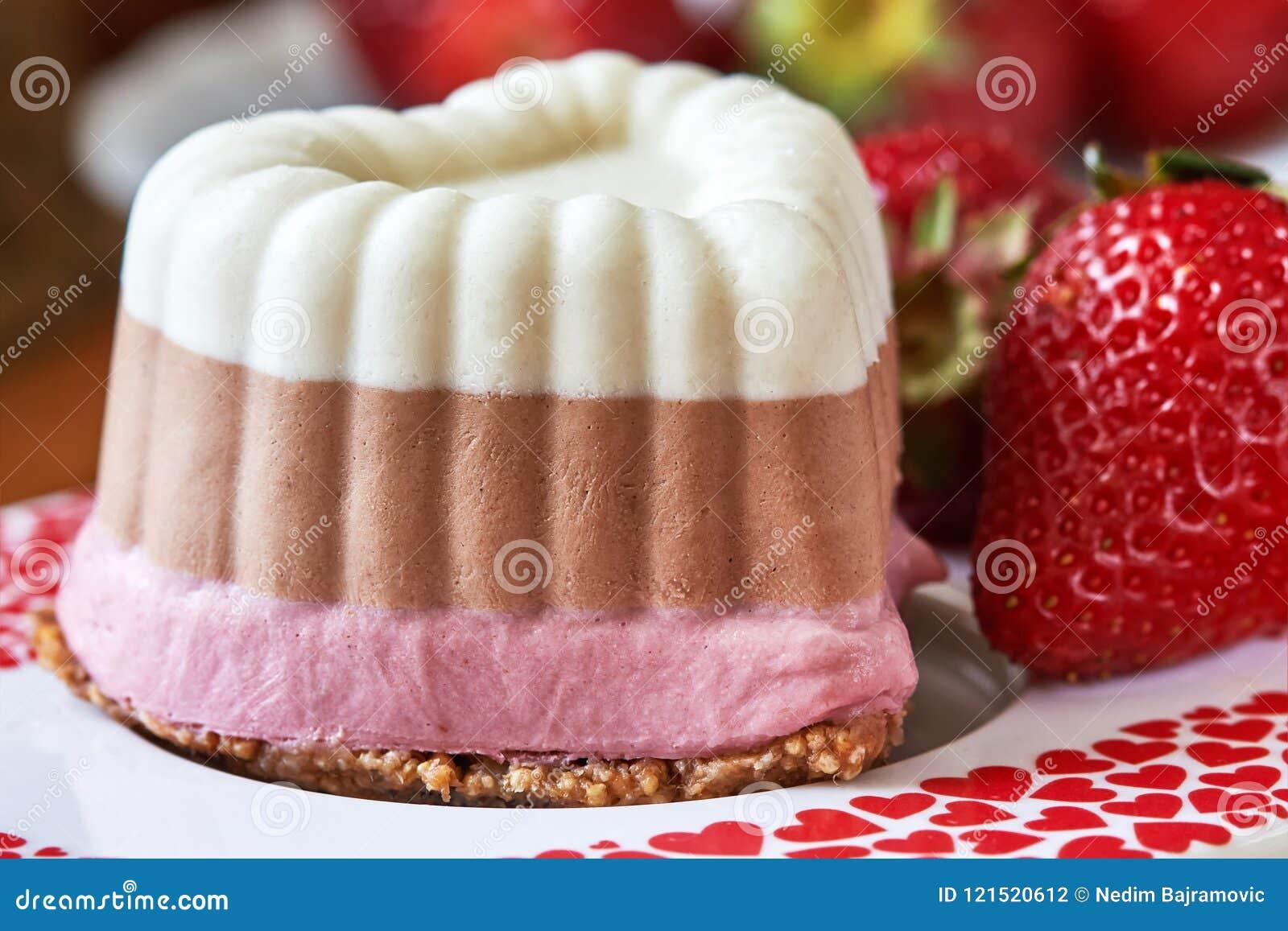 Raw Vegan Mini Cakes Stock Photo Image Of Birthday 121520612