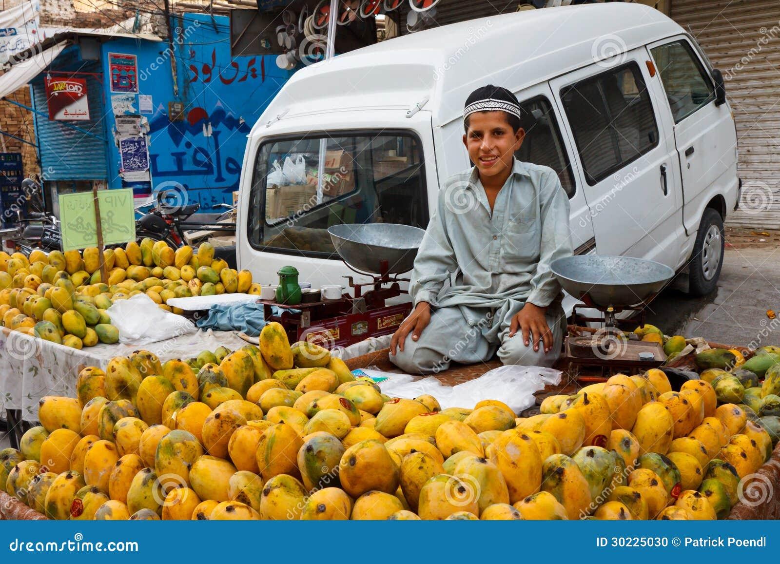 Bazar del Raja en Rawalpindi, Paquistán