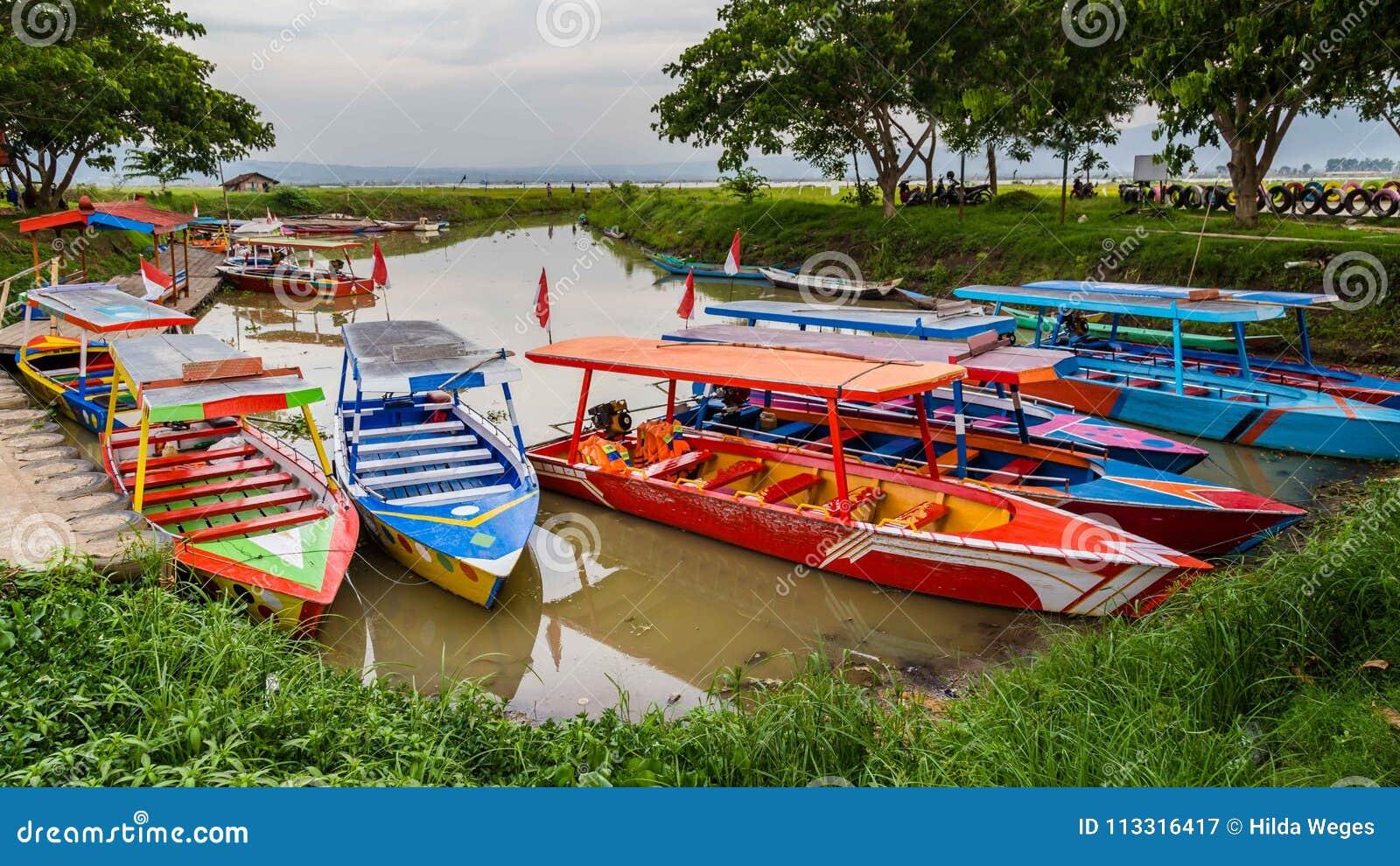 Rawapening, Semarang, Centraal Java, Indonesië