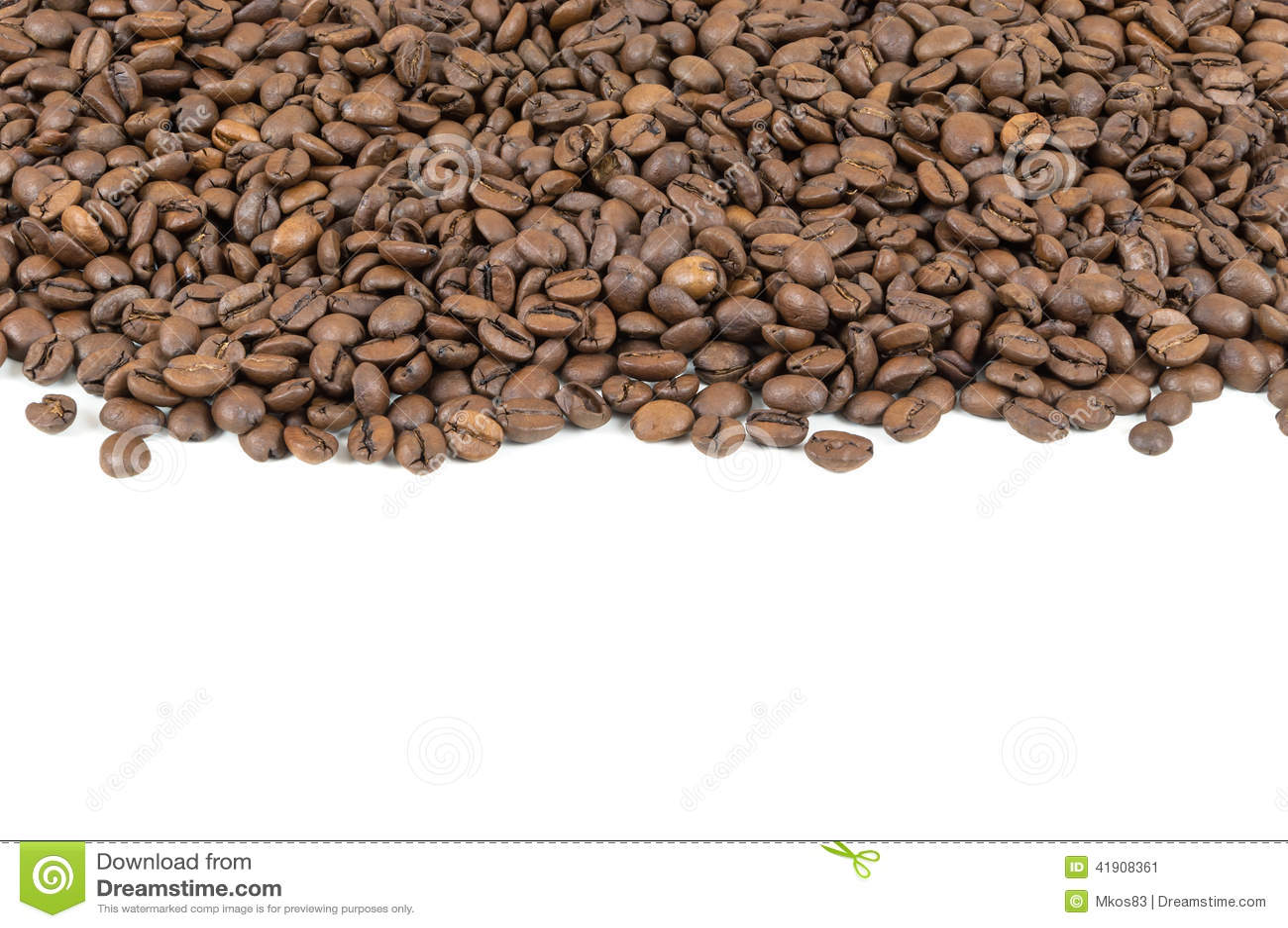 Raya de los granos de café