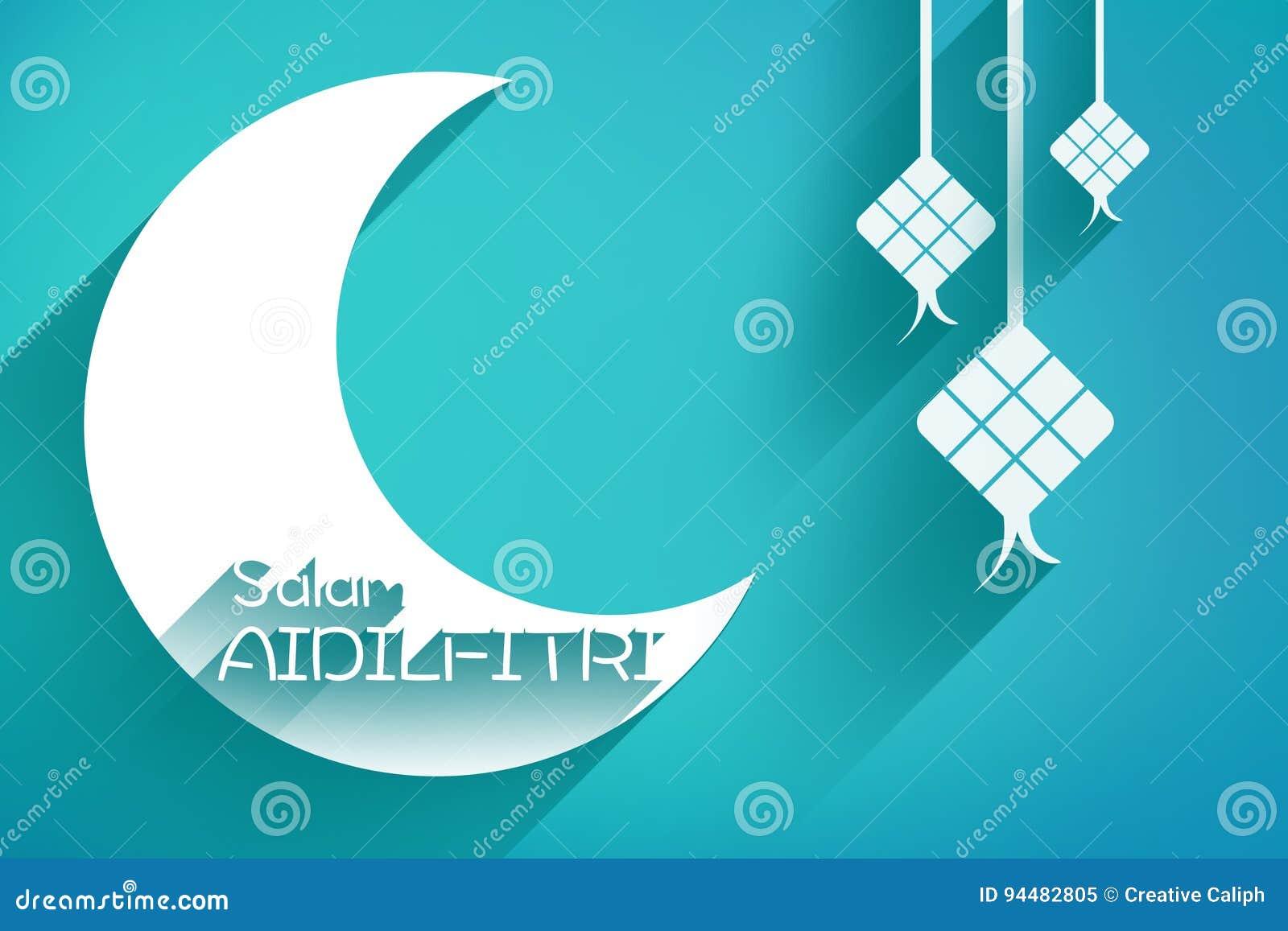 Raya eid greeting card stock illustration illustration of greeting raya eid greeting card break idulfitri kristyandbryce Images