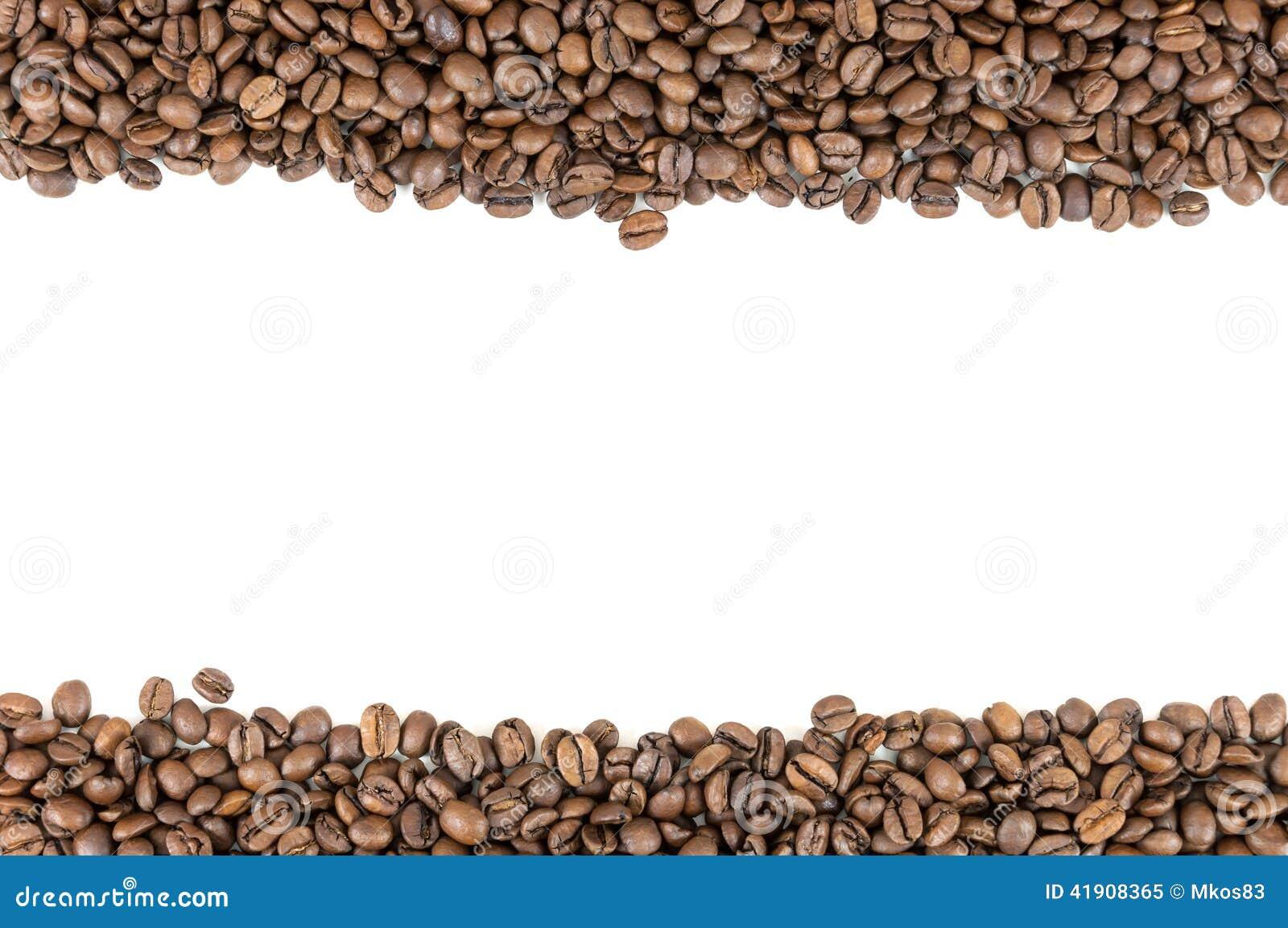 Rayas de los granos de café