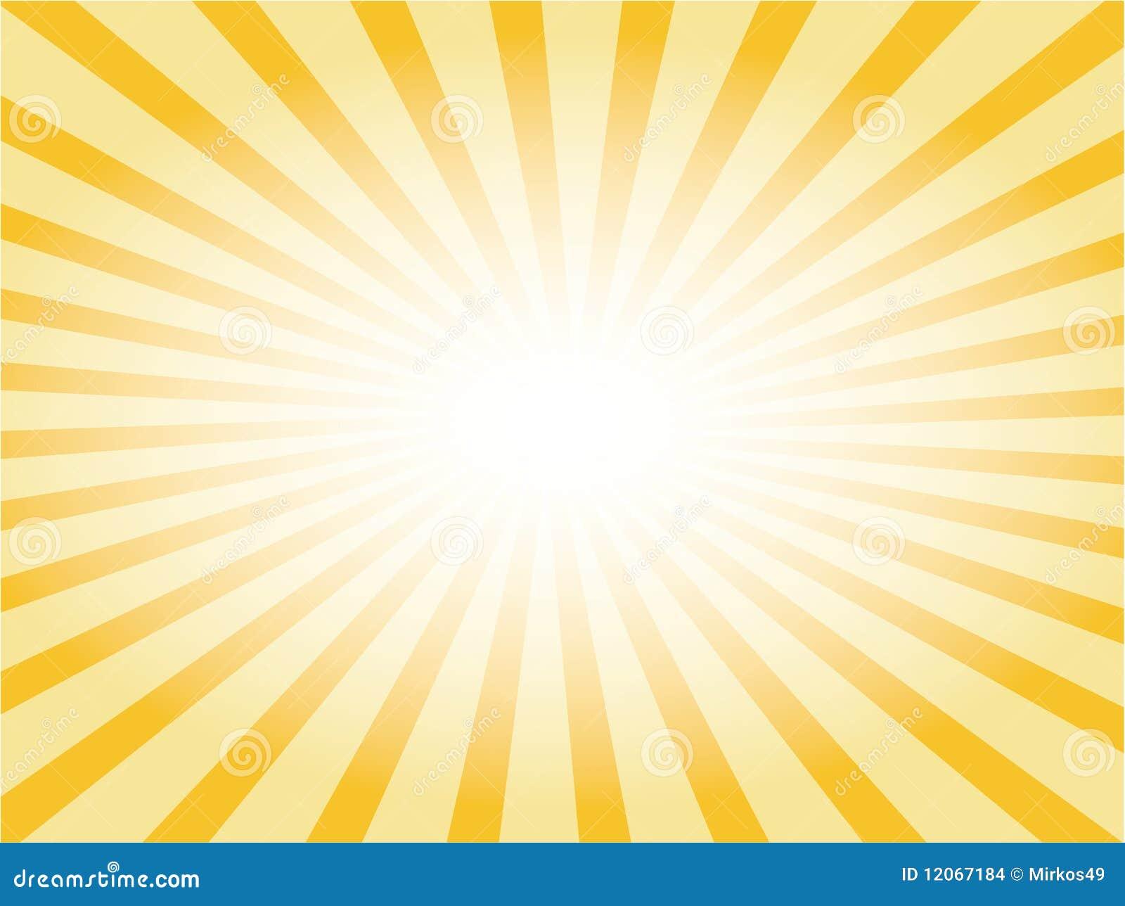 rayon de soleil de vecteur illustration stock