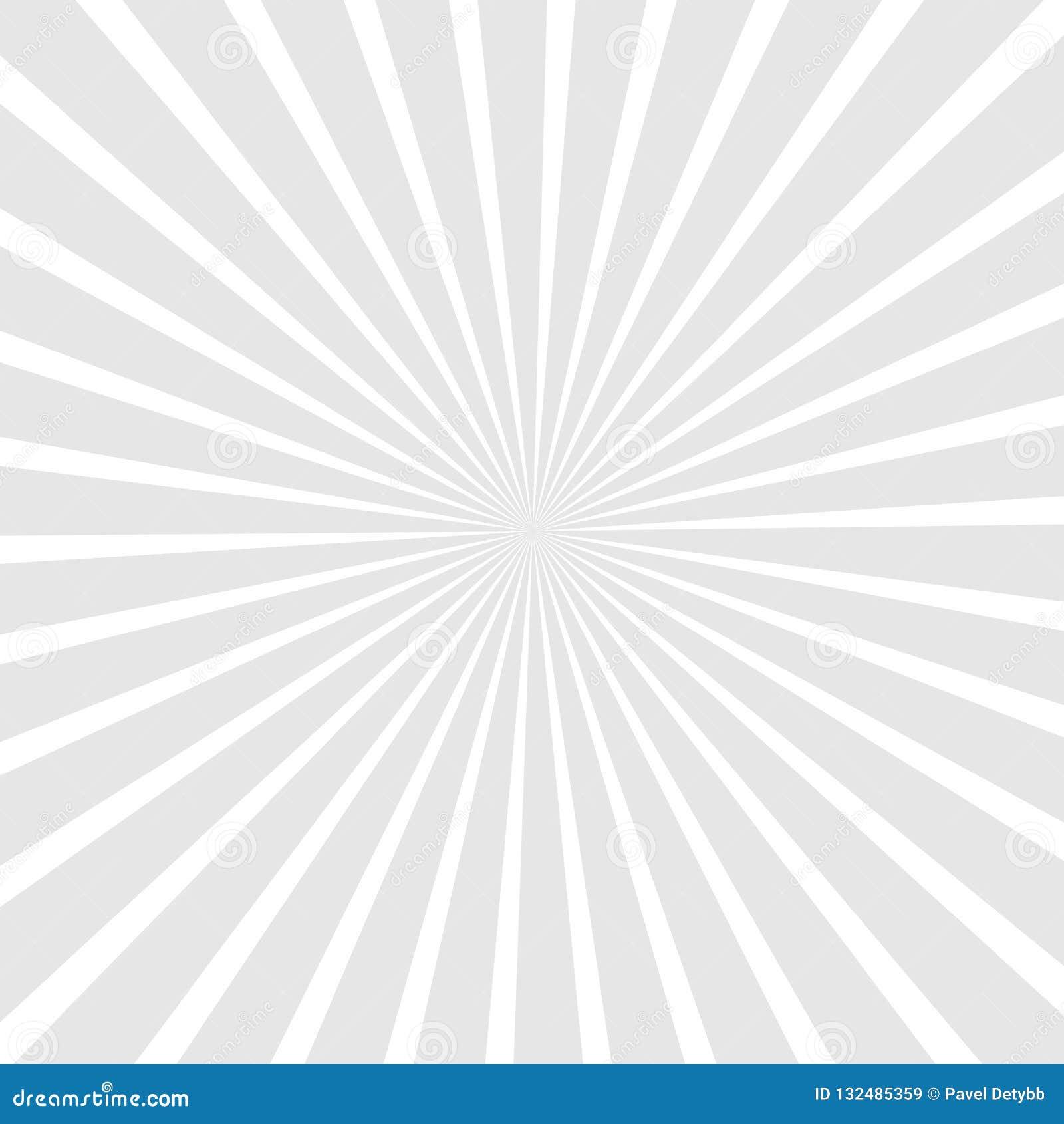 Rayon de soleil, fond de starburst, lignes convergentes Illustration de vecteur
