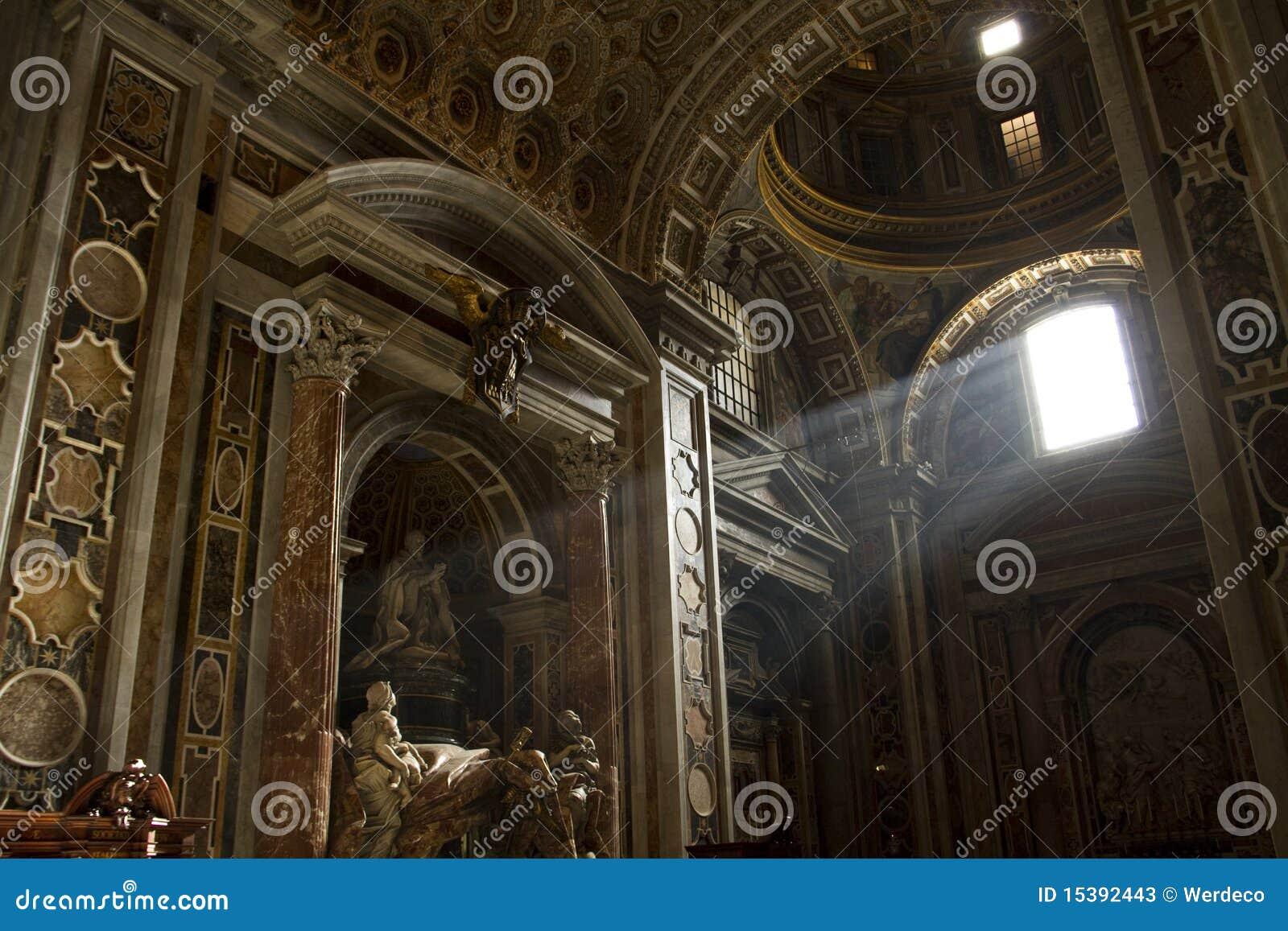 Rayons légers de Vatican