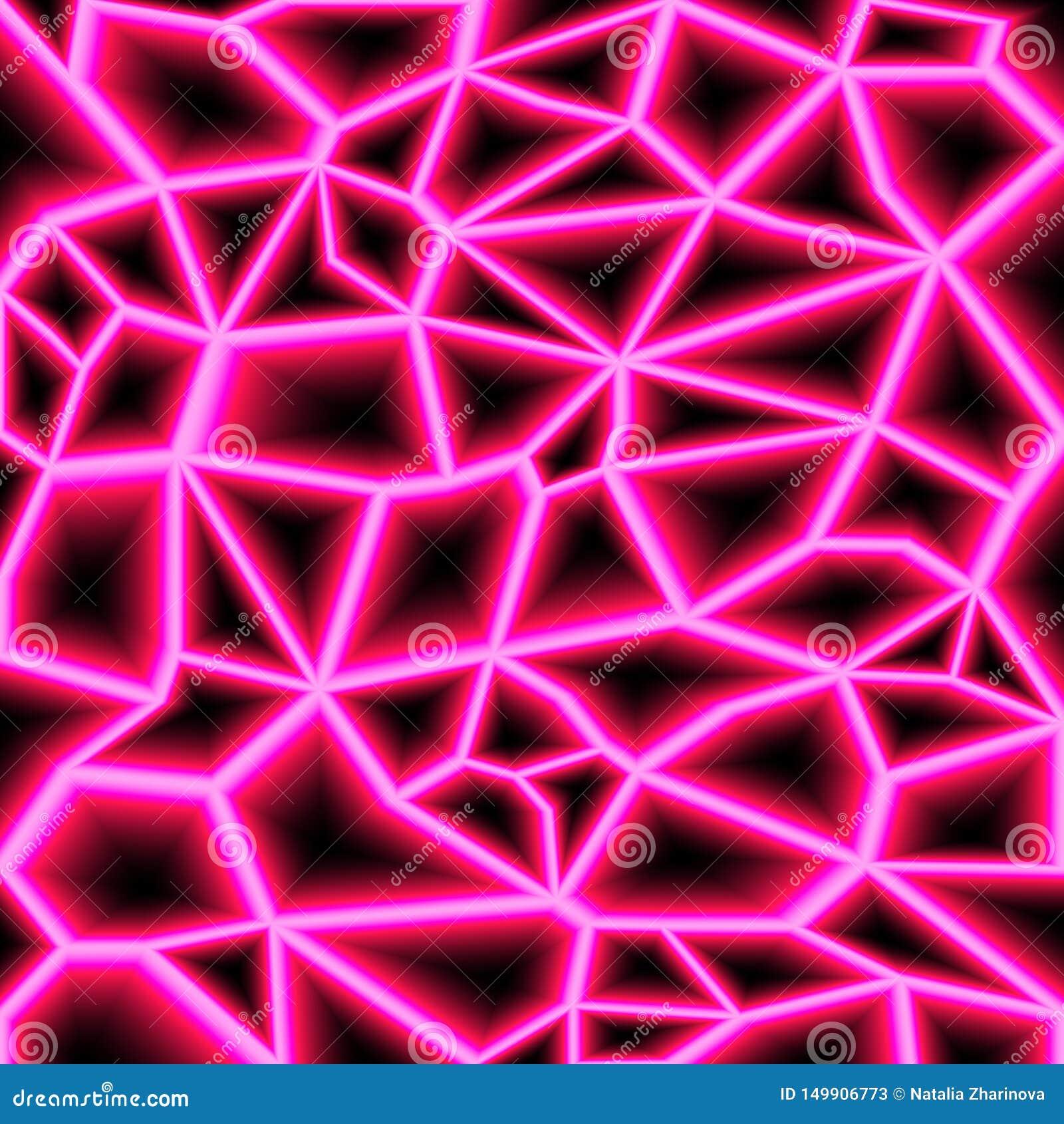 Rayons laser aléatoires colorés sur le fond foncé Endroit pour votre texte Illustration de vecteur