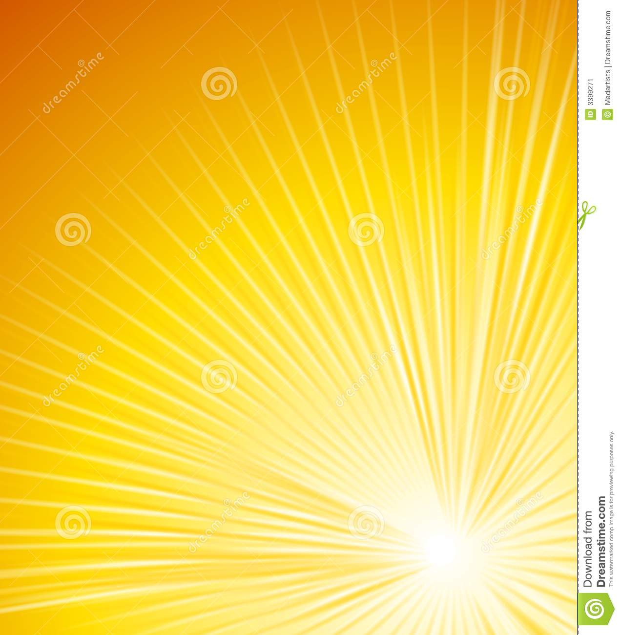 Rays Of Light Glowing Lines 2 Stock Illustration - Image