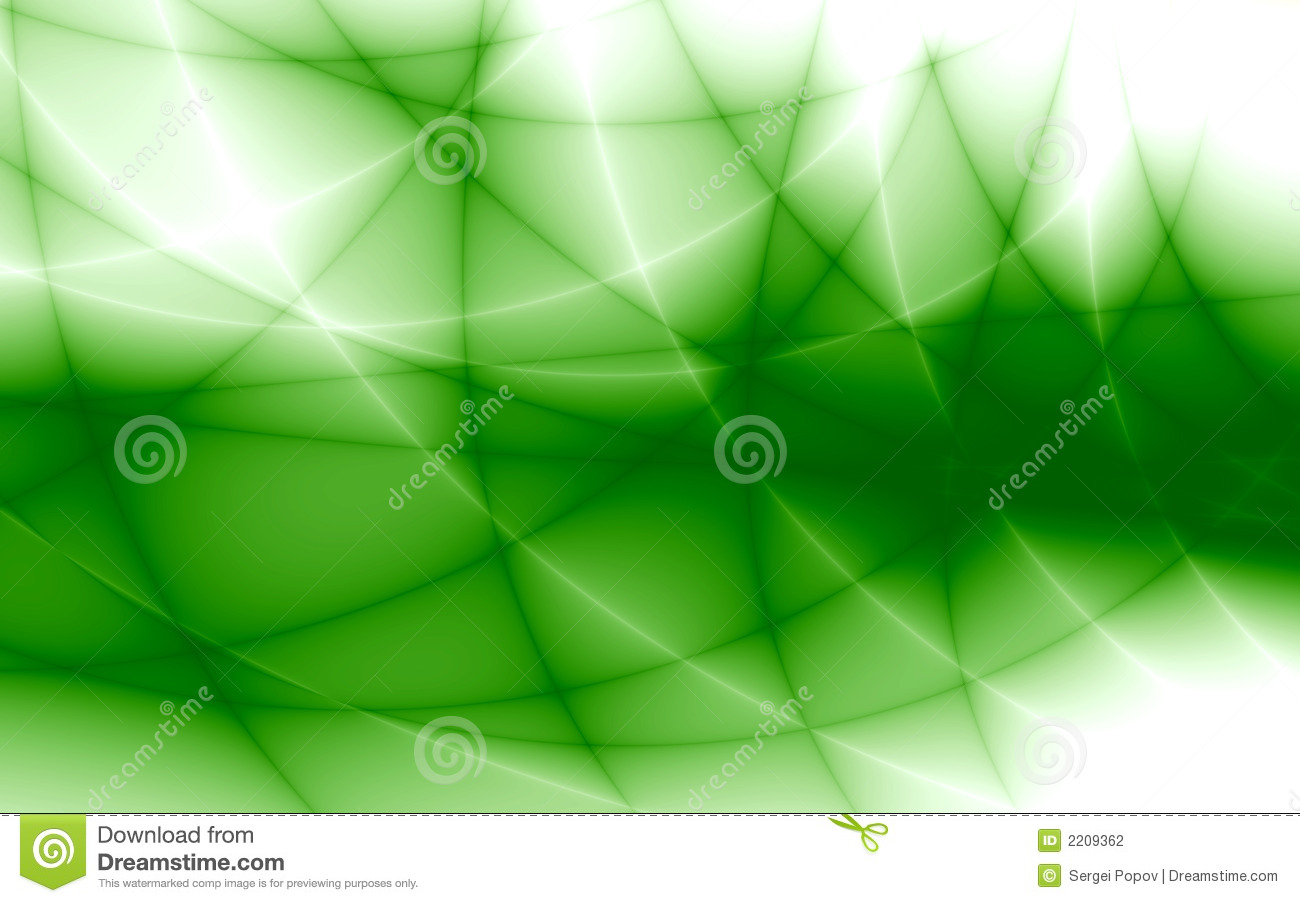 Rays and lines of green color