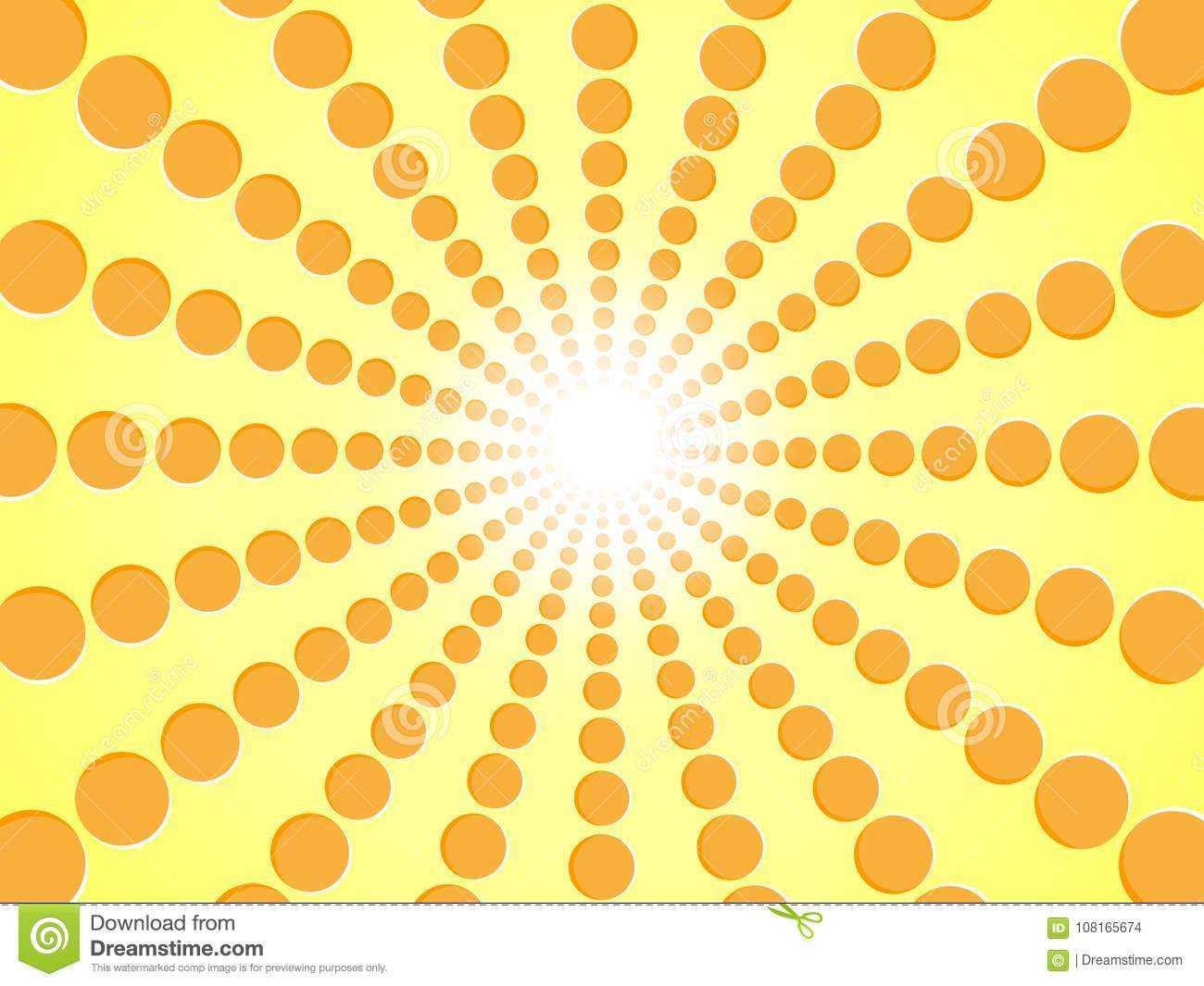 Rays Of Orange. Yellow Abstract Sun Burst Background - Gradient ... for Yellow Vector Graphics Design Background  111ane