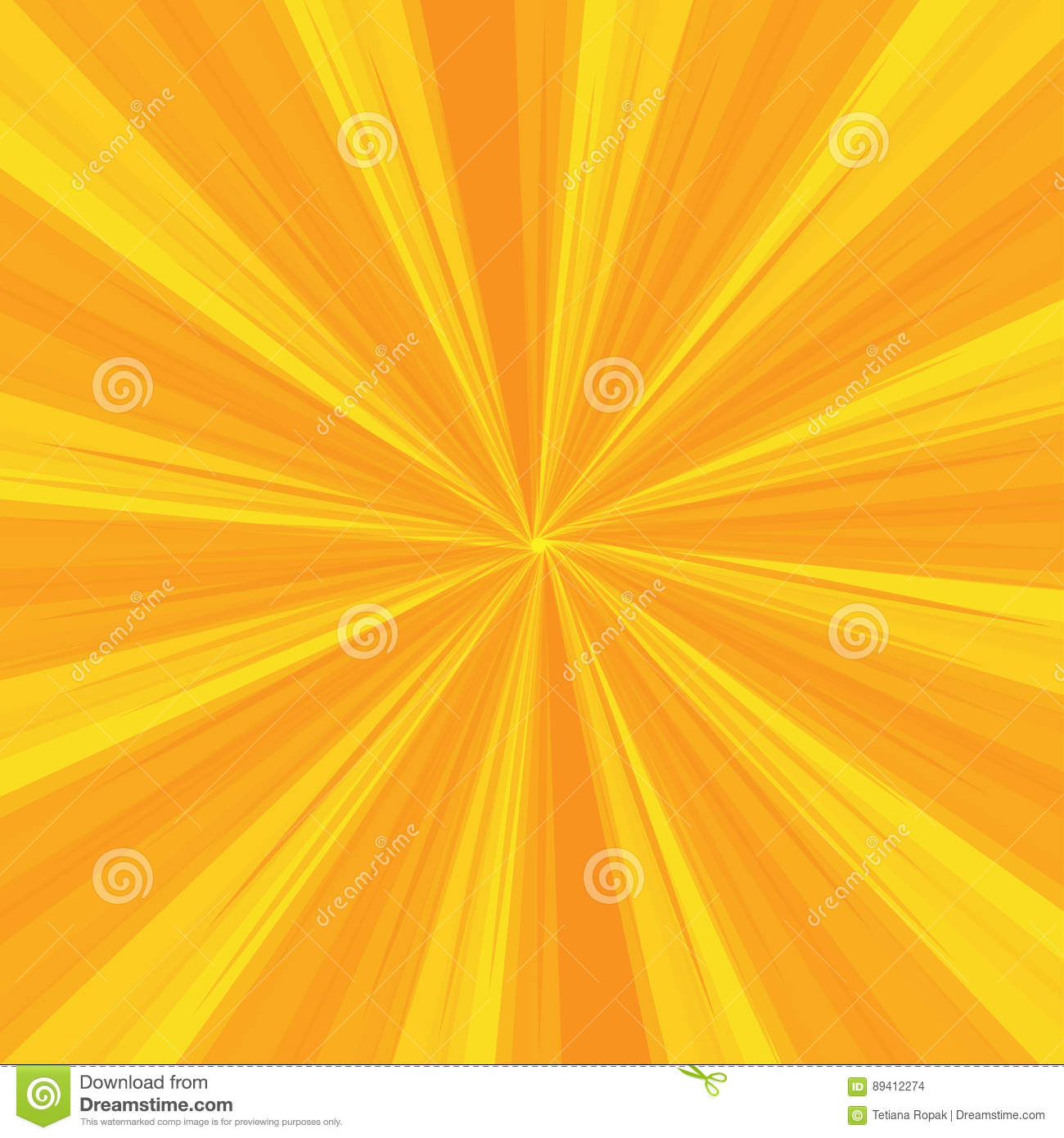 Rays Pattern With Yellow Light Burst Stripes. Sun Ray.Abstract ... for Yellow Light Rays Background  557ylc
