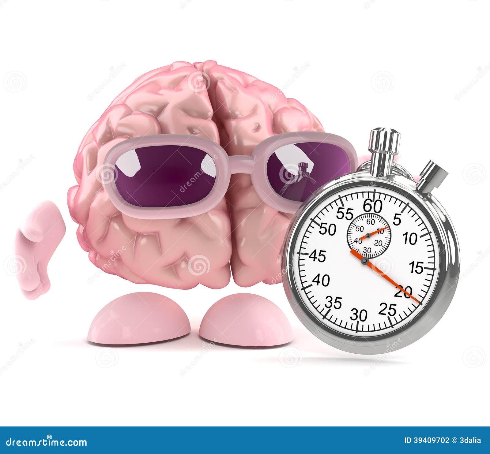 Raza del cerebro 3d