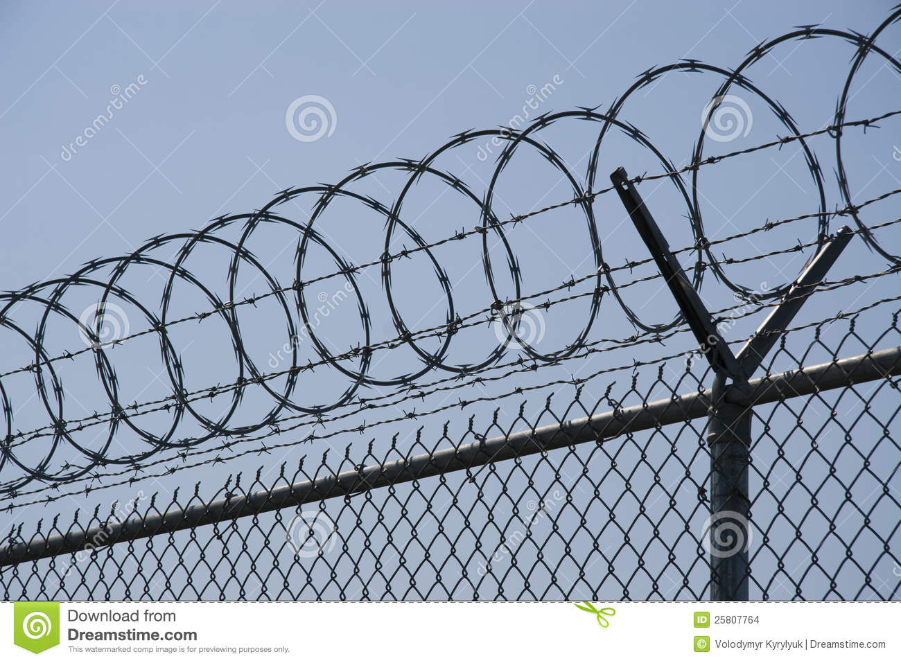 Razor Wire Stock Images Image 25807764