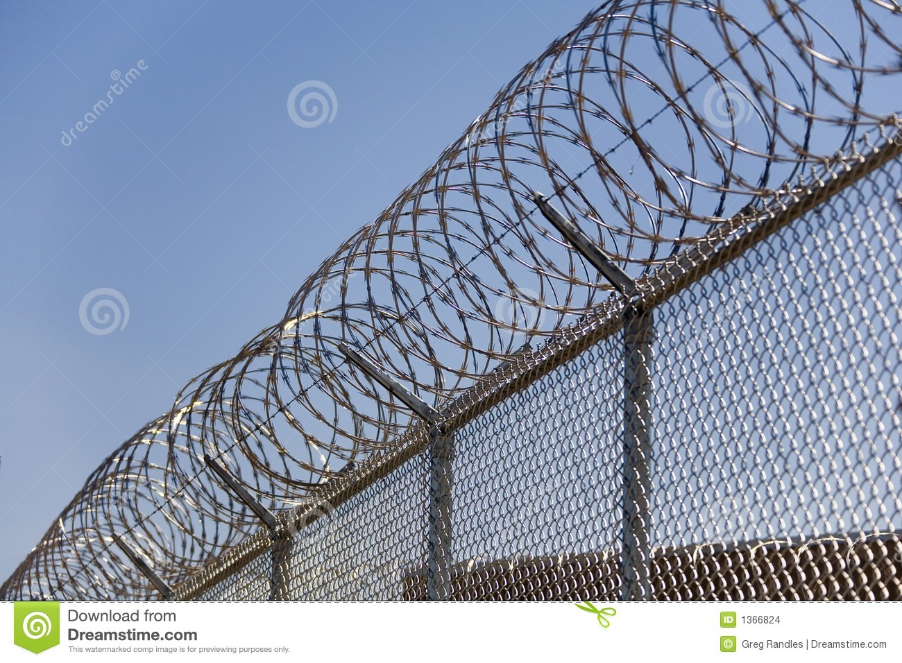 Security Razor Wire on Road Map Eastern United States