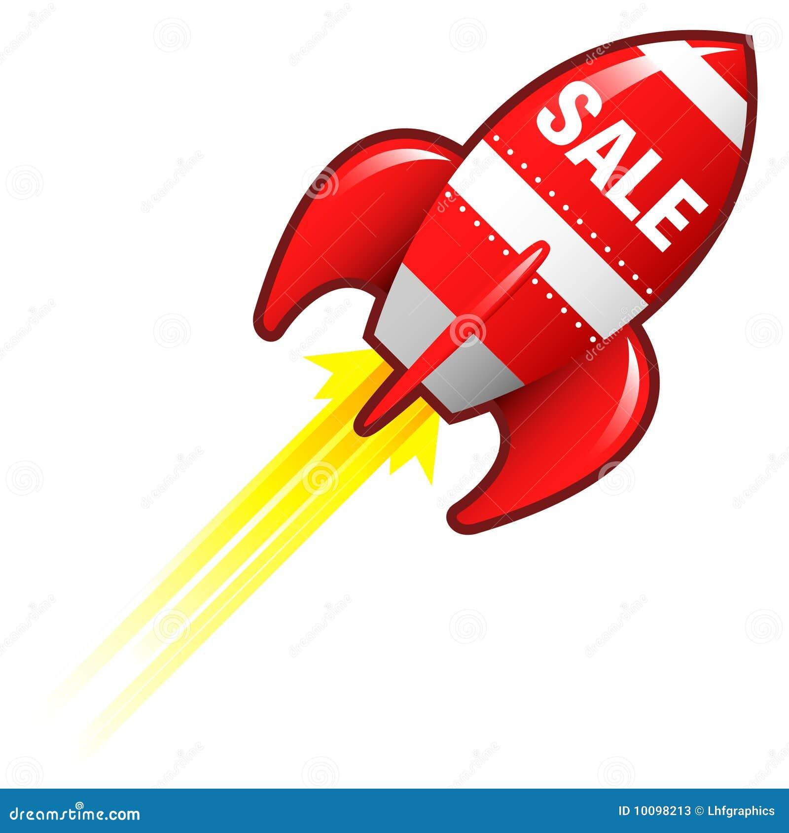 Razzo di vendita per i materiali di commercio elettronico - Immagini stampabili a razzo ...