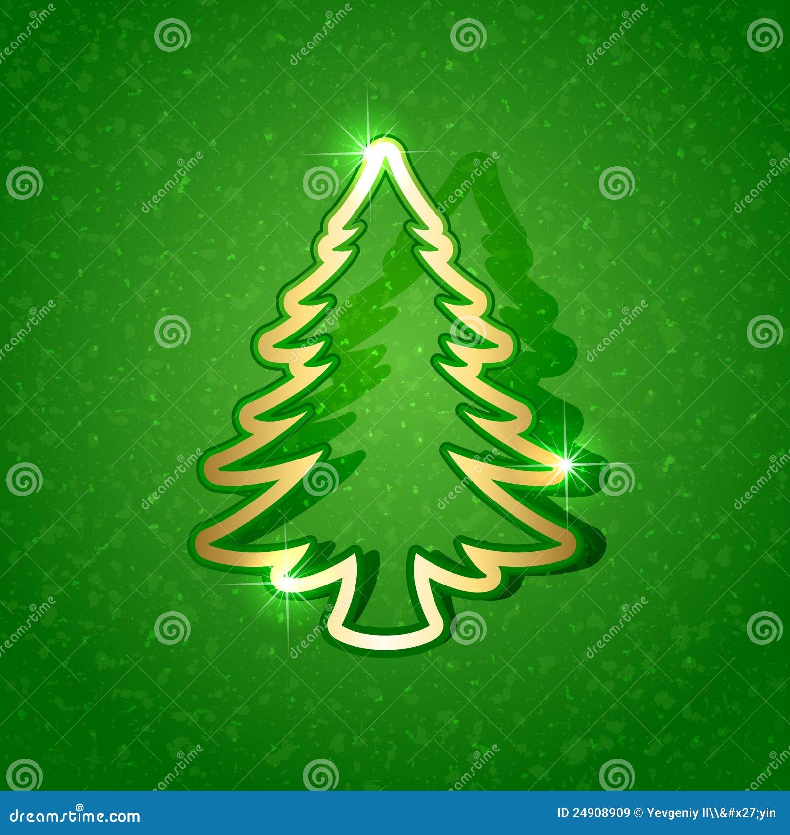 Rbol de navidad de papel en fondo verde im genes de for Arbol navidad verde