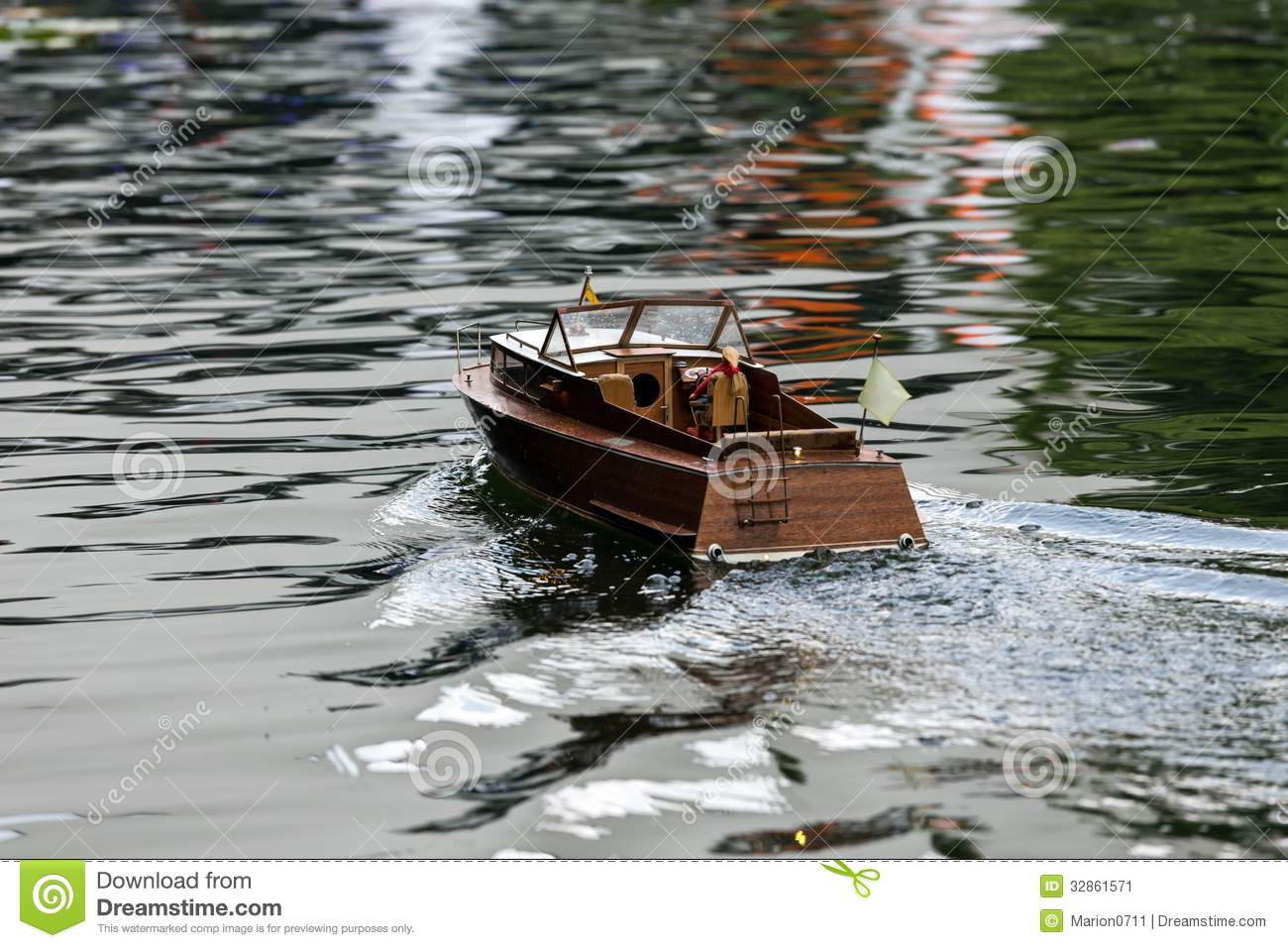 RC boat stock image. Image of antenna, leisure, shipping ...
